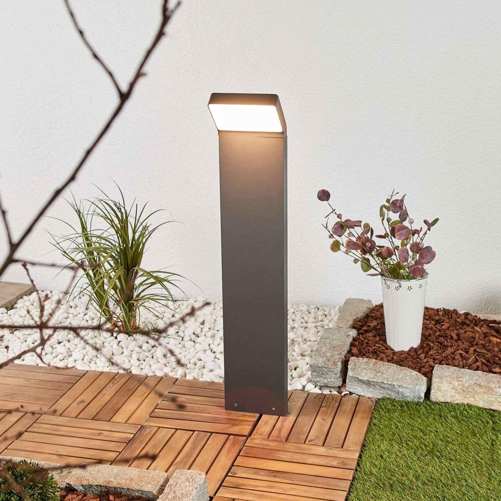 Evelin LED-pylväsvalaisin tummanharmaana-9618108-01