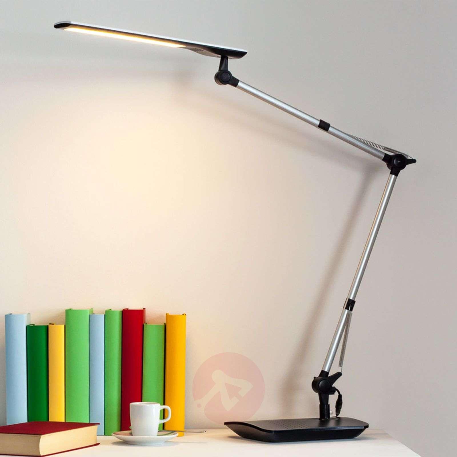 Felipe LED-työpöytävalaisin klipsikiinnikkeellä-9643013-01