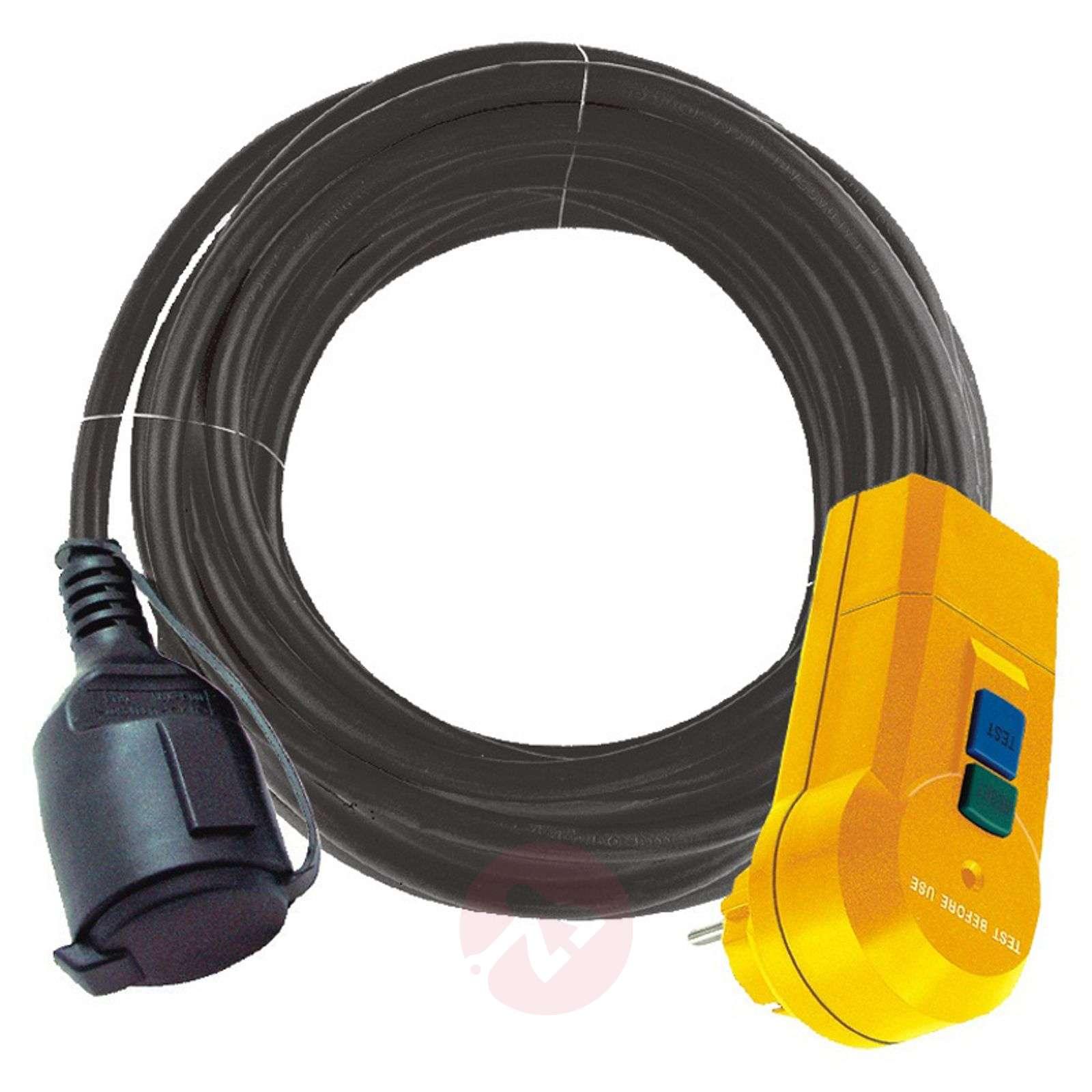 FI-suojasovitinjohto, IP44, ulkokäyttö-1540117-01