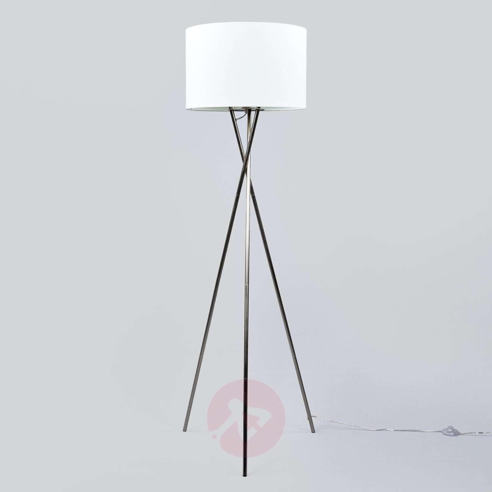 Fiby-lattiavalaisin, valkoinen kangasvarjostin-4018034-02