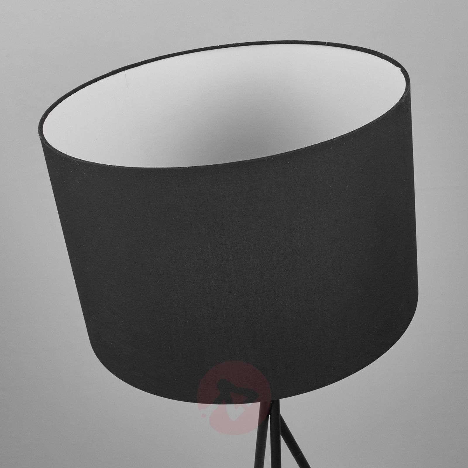 Fiby tekstiililattiavalaisin, musta varjostin-4018035-02