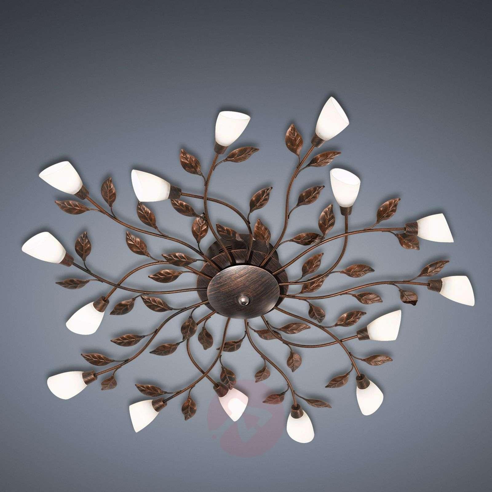Firenzeläistyyl. kattovalaisin LED Jela ruoste ant-9004928-01