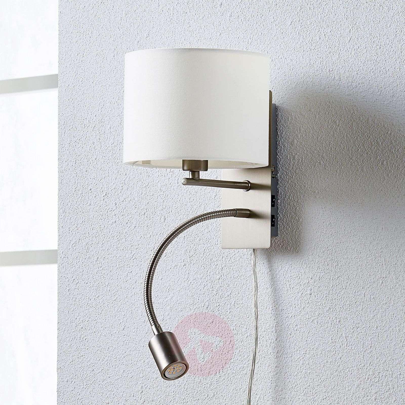 Florens – tekstiiliseinävalaisin ja LED-lukuvalo-9620921-03