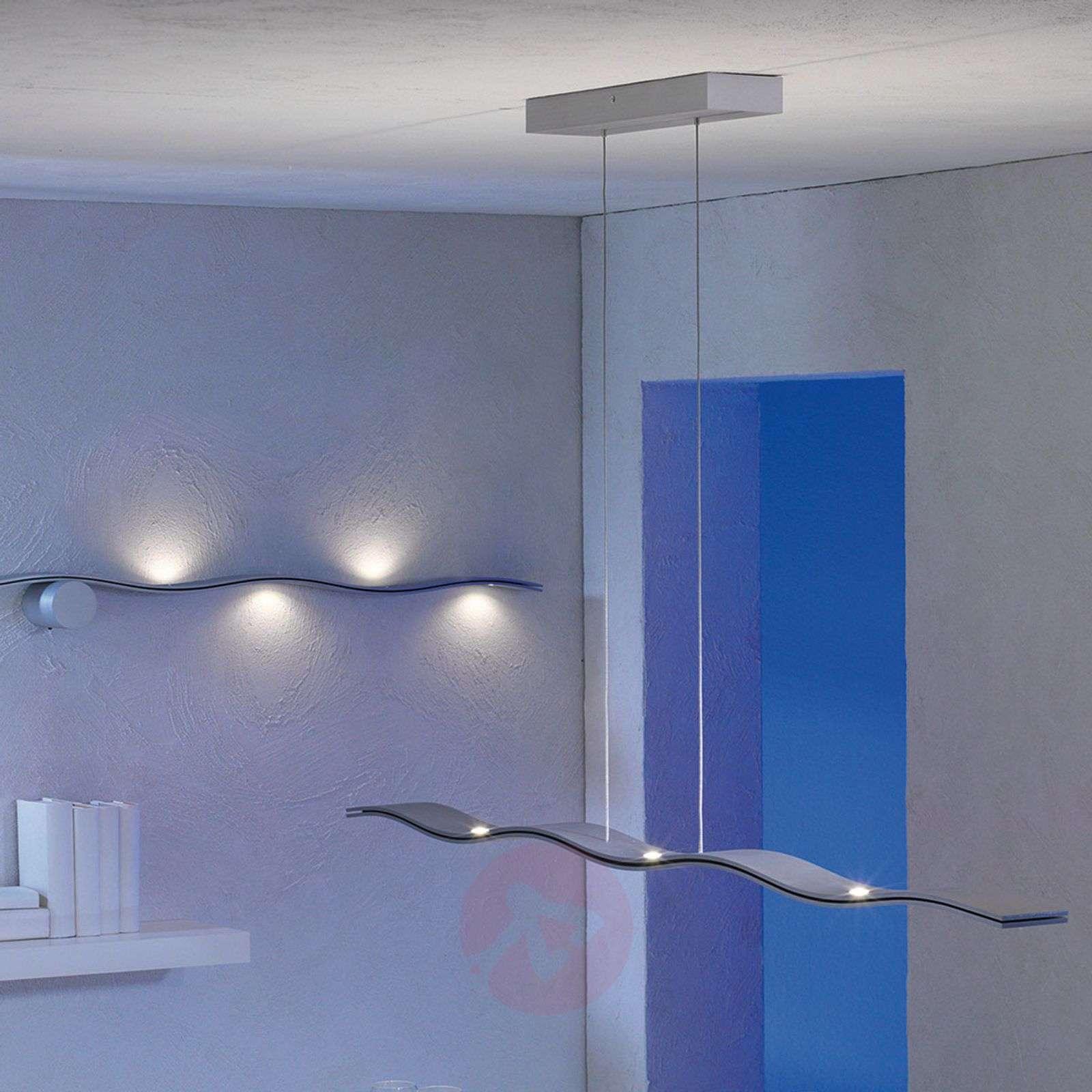 Fluid himmennettävä LED-riippuvalaisin, alumiini-3051029-01