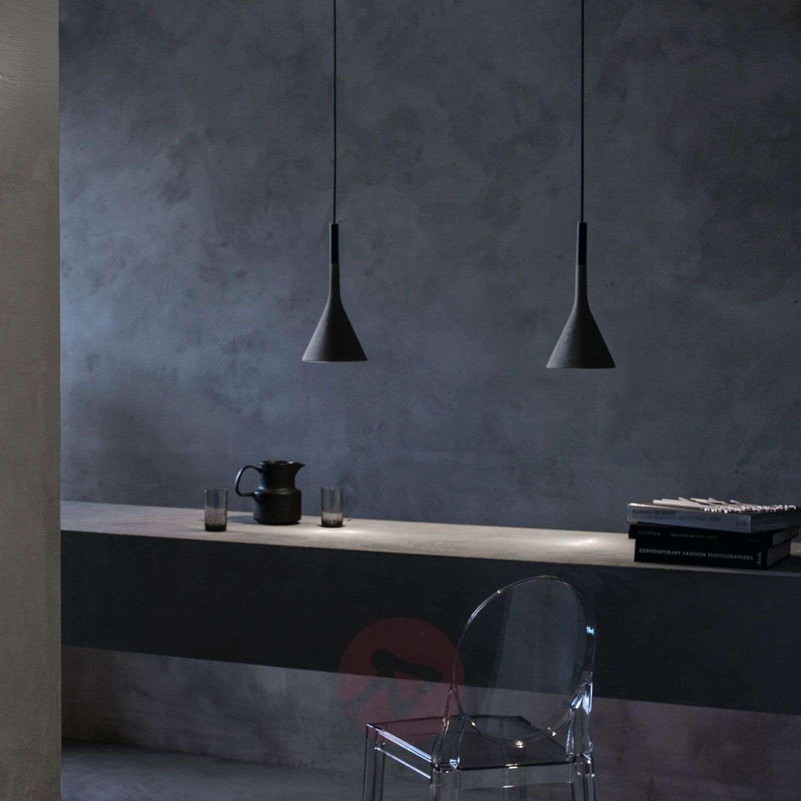 Foscarini Aplomb-riippuvalaisin betonista, harmaa-3560064-01