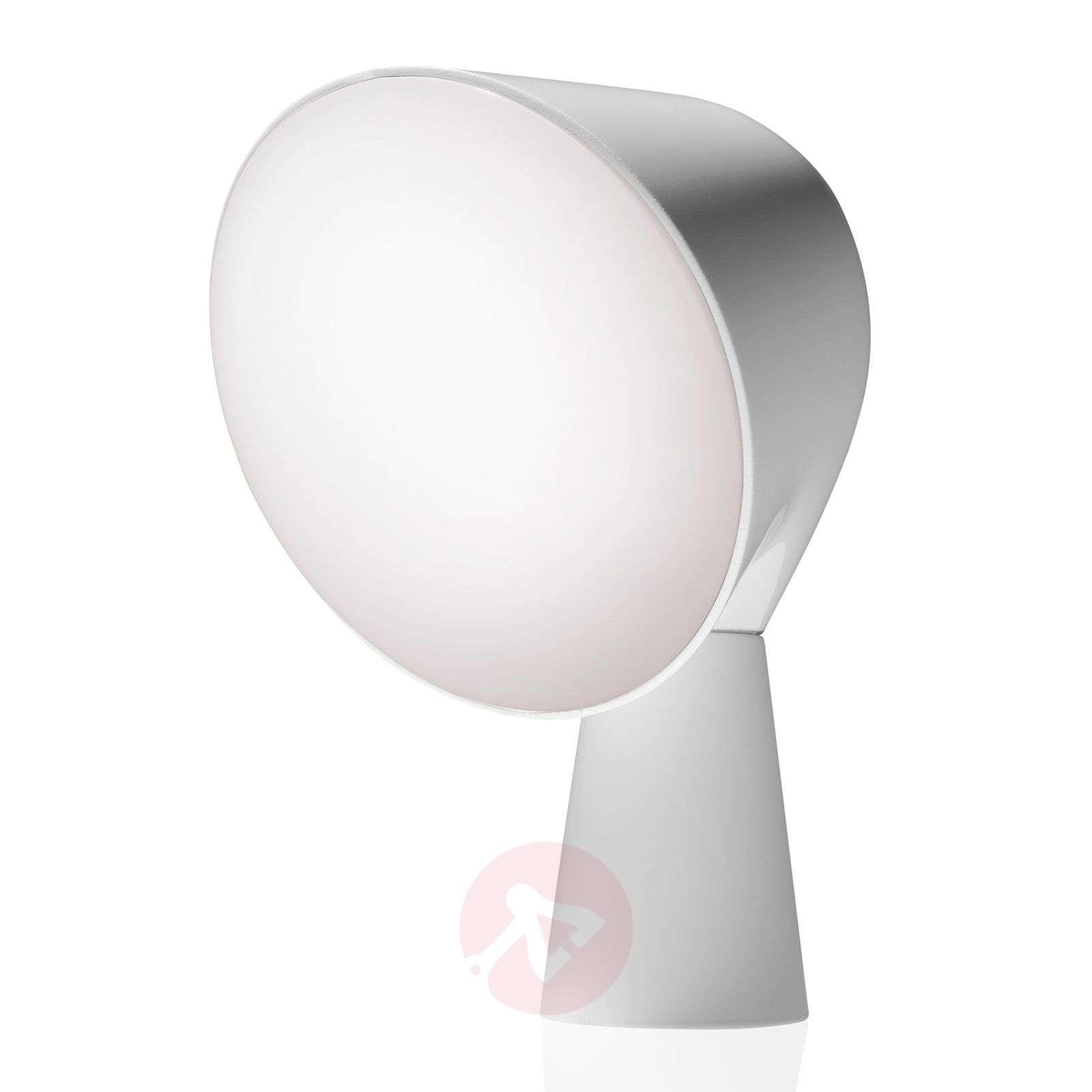 Foscarini Binic design-pöytävalaisin, valkoinen-3560020-01