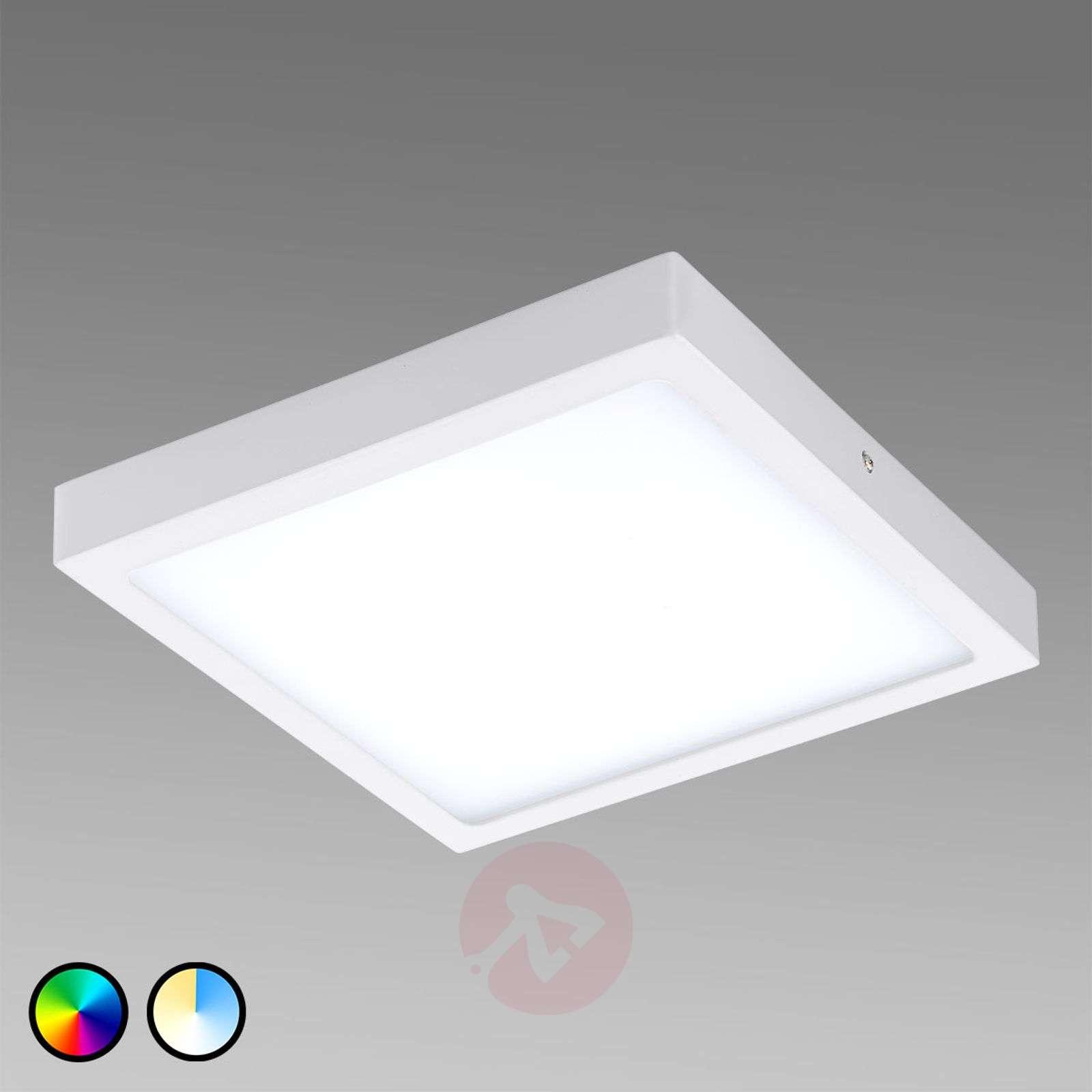 Fueva-Connect kulmikas LED-kattovalaisin 30 cm-3032065X-01