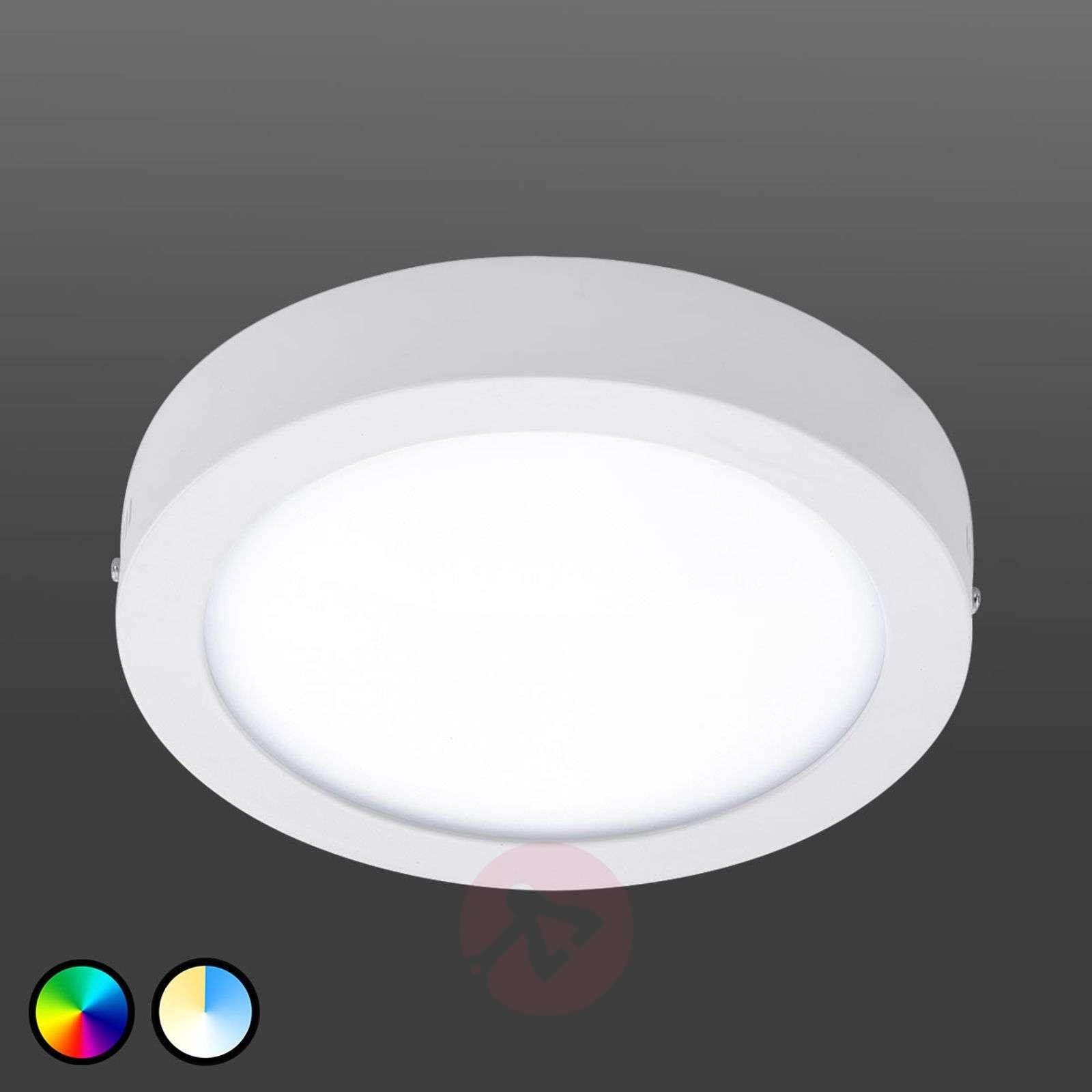 Fueva Connect LED-kattovalaisin, 22,5 cm-3032059X-01