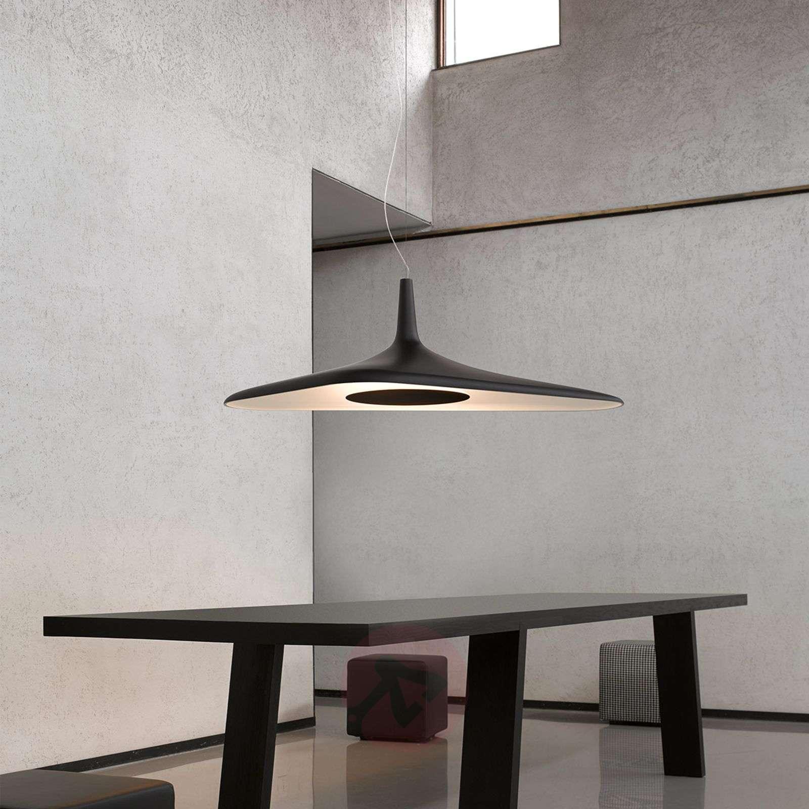 Futuristinen LED-riippuvalaisin Soleil Noir-6030176-02