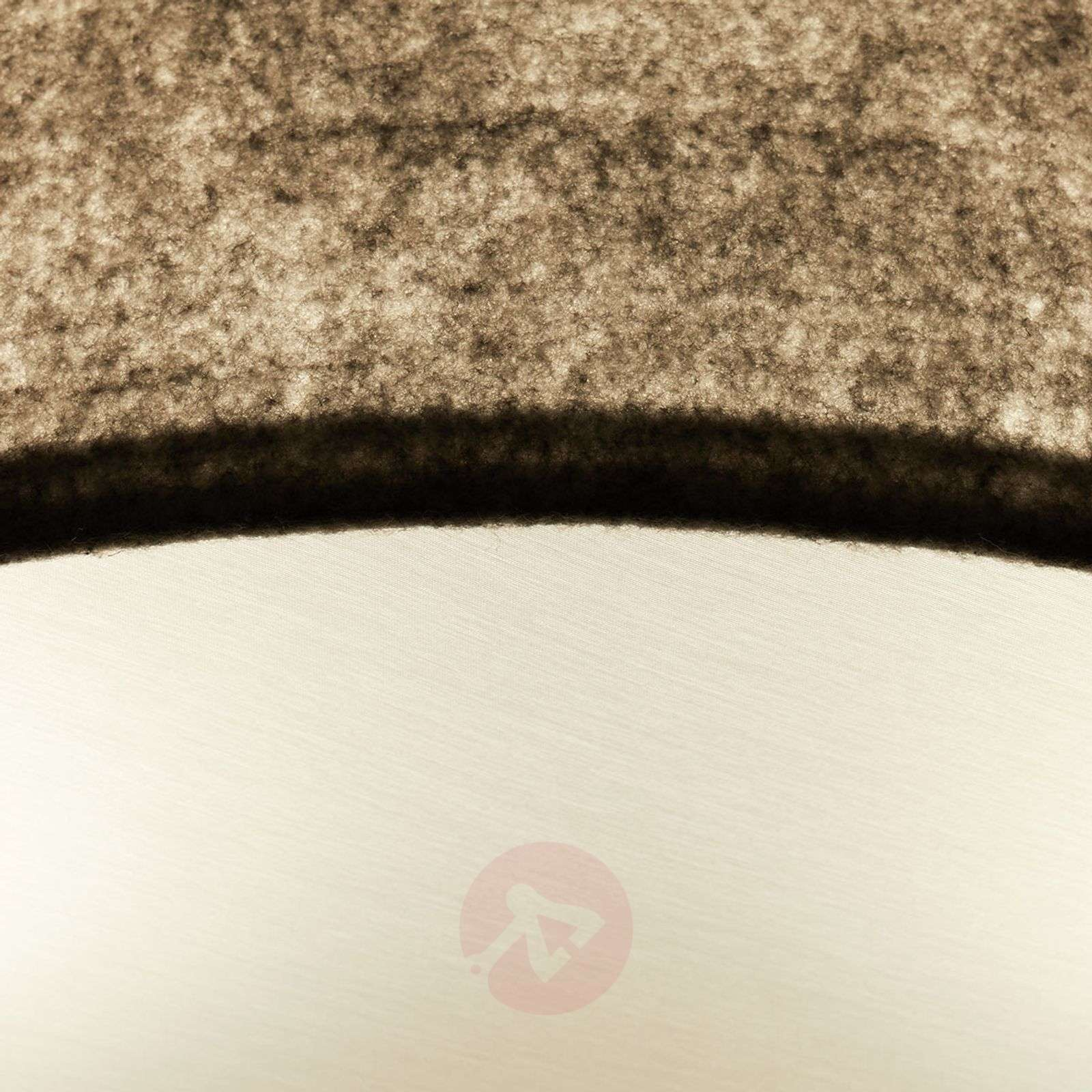 Gala-kattovalo, 50 cm, vaaleanharmaa huopa-6722456-02
