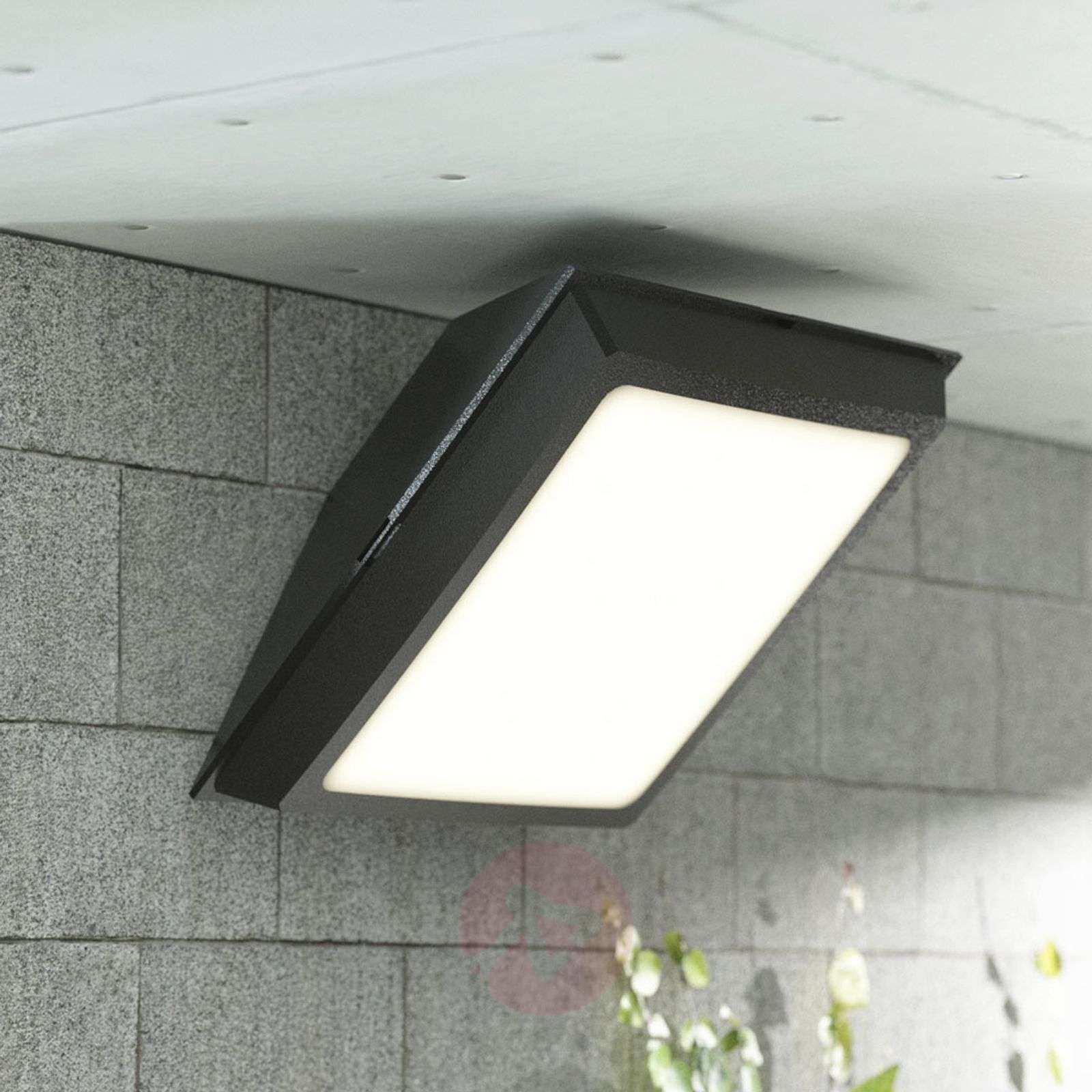 Giuseppe kattovalaisin ulos, LED 18W, musta-3538095-01