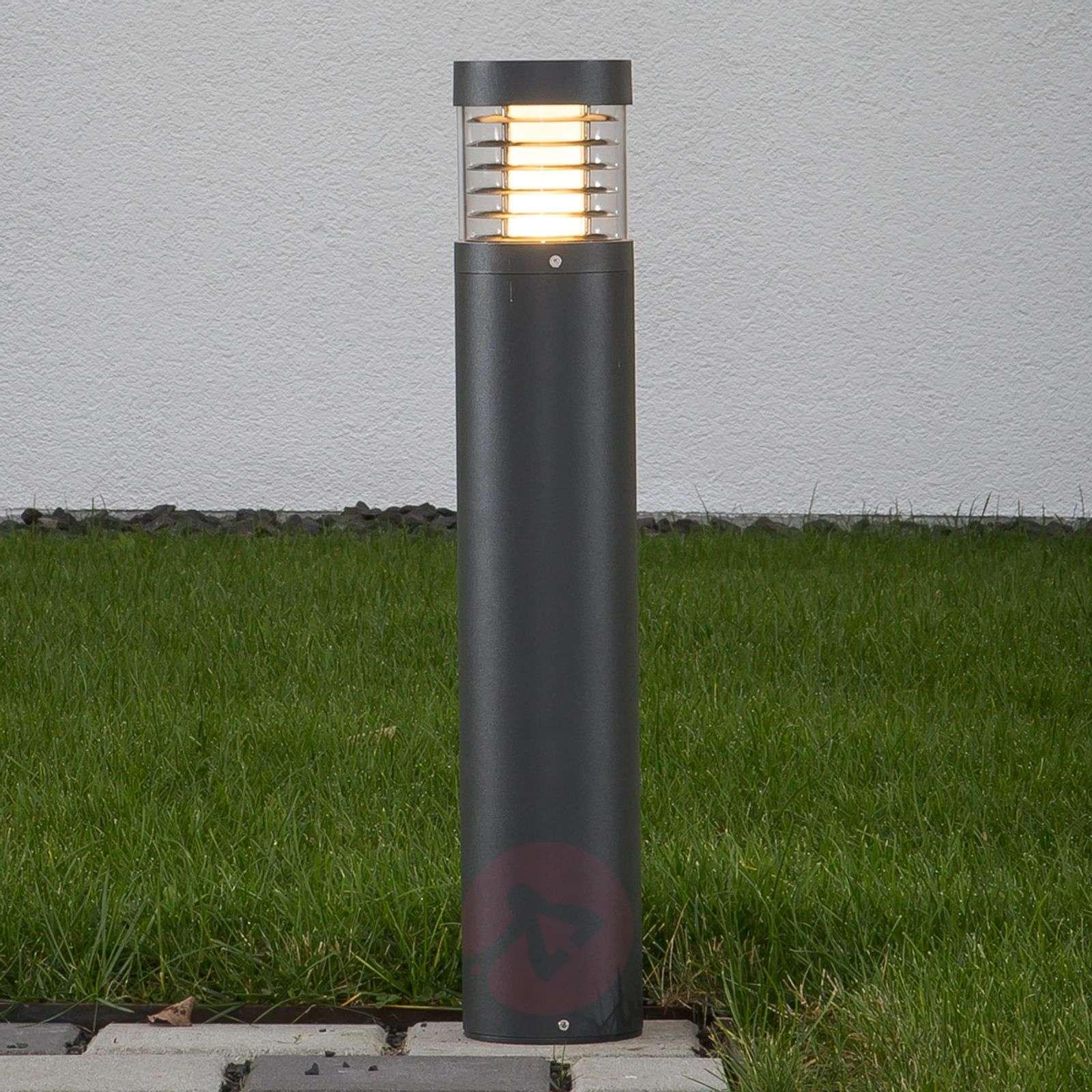 Grafiitinharmaa LED-valaisin Lucius 65cm korkea-9616053-01