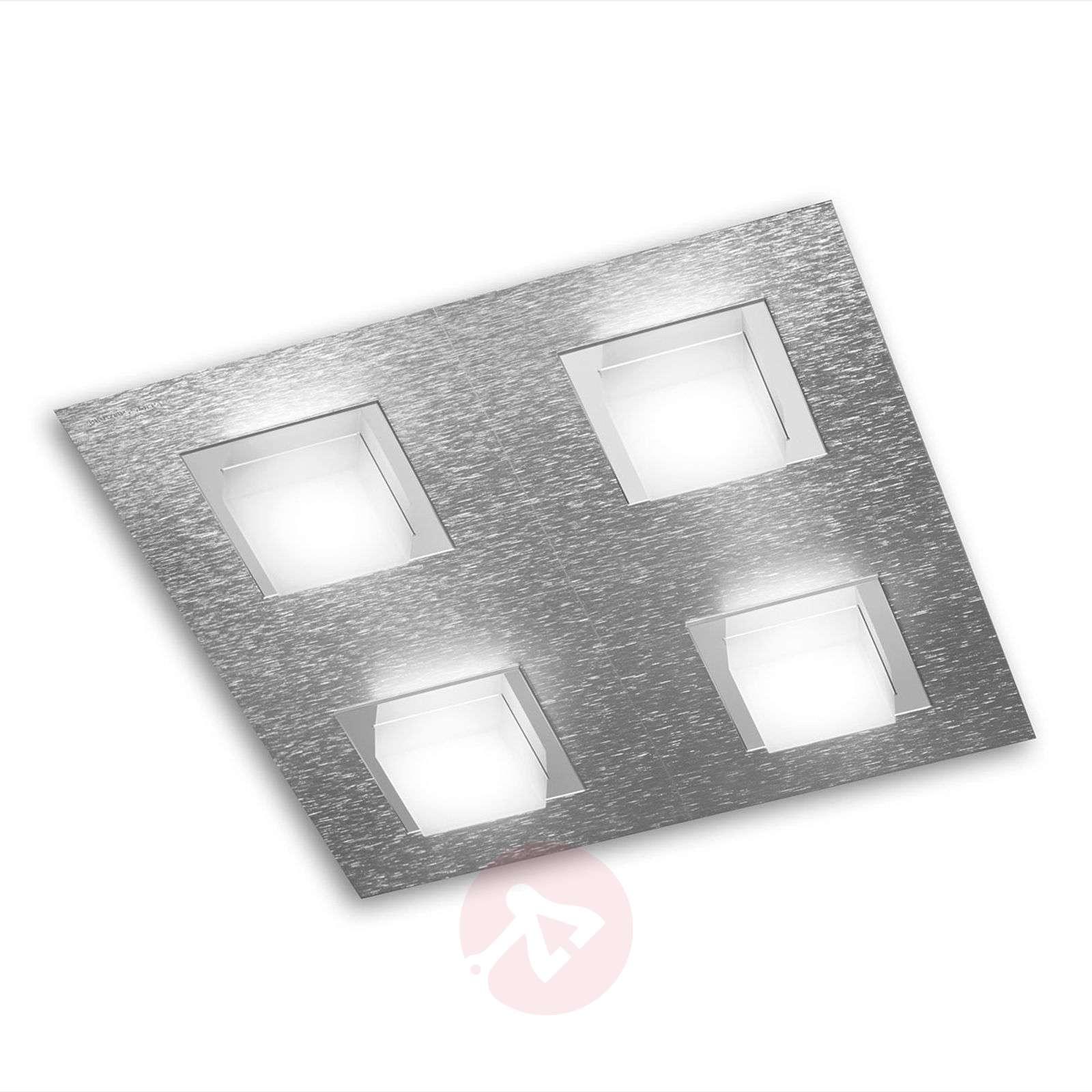 GROSSMANN Basic LED-kattovalaisin, 4-lamppuinen-4022061X-01