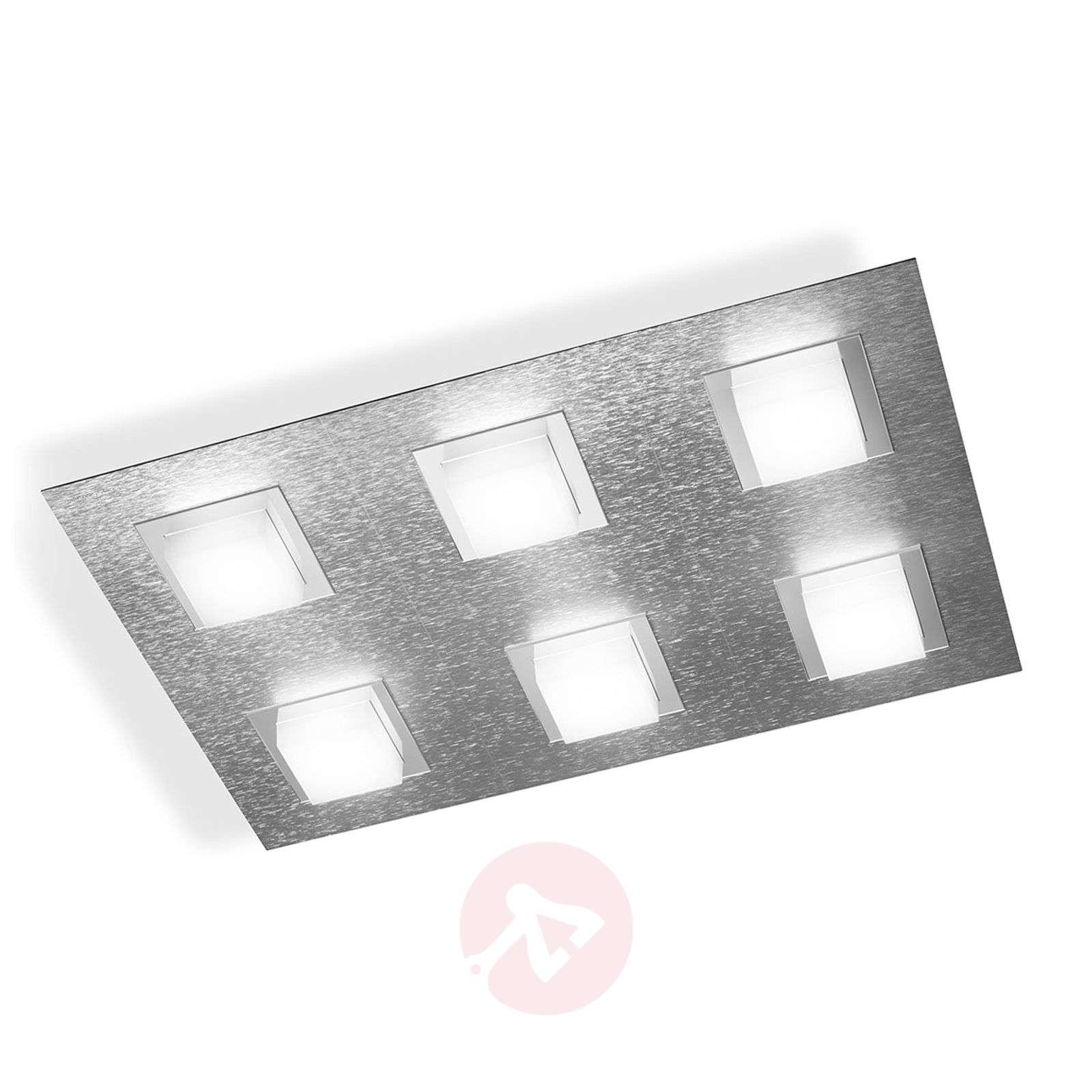 GROSSMANN Basic LED-kattovalaisin, 6-lamppuinen-4022062X-01