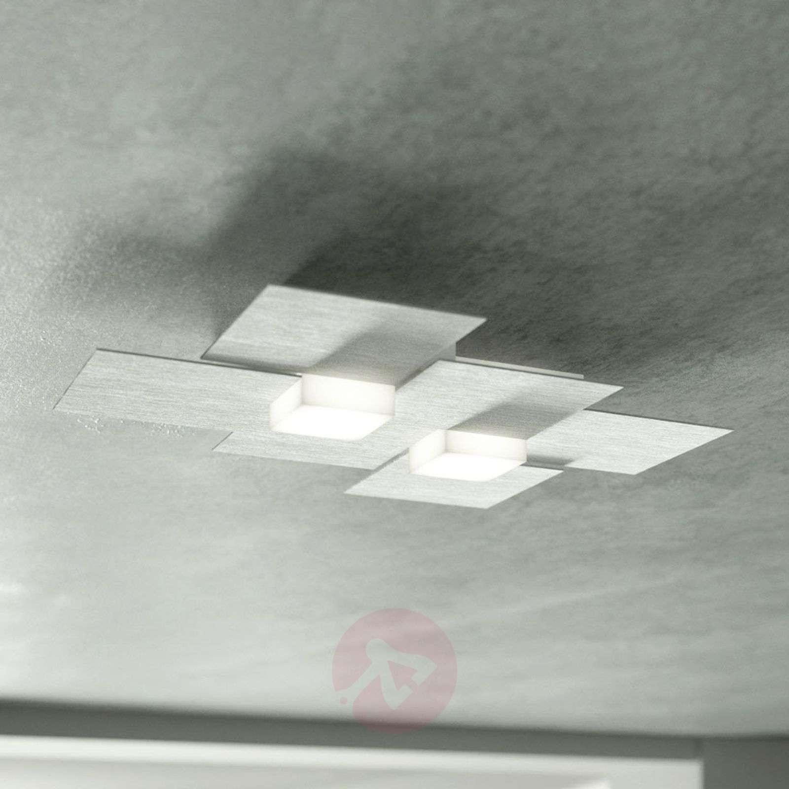 GROSSMANN Creo LED-kattovalaisin 2-lampp.-4022004X-01