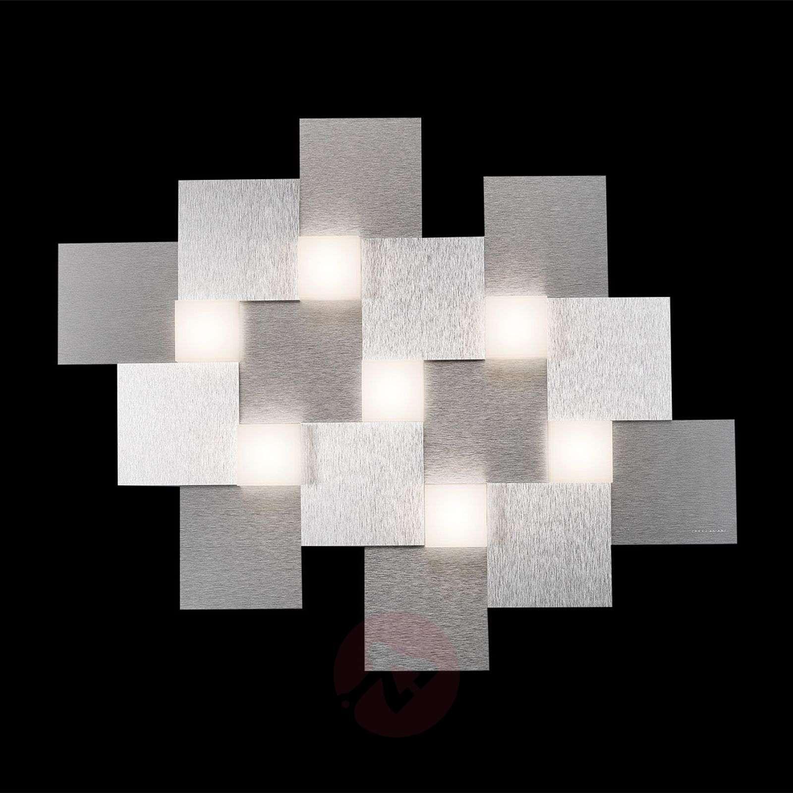 GROSSMANN Creo LED-kattovalaisin 7-lampp.-4022008X-01