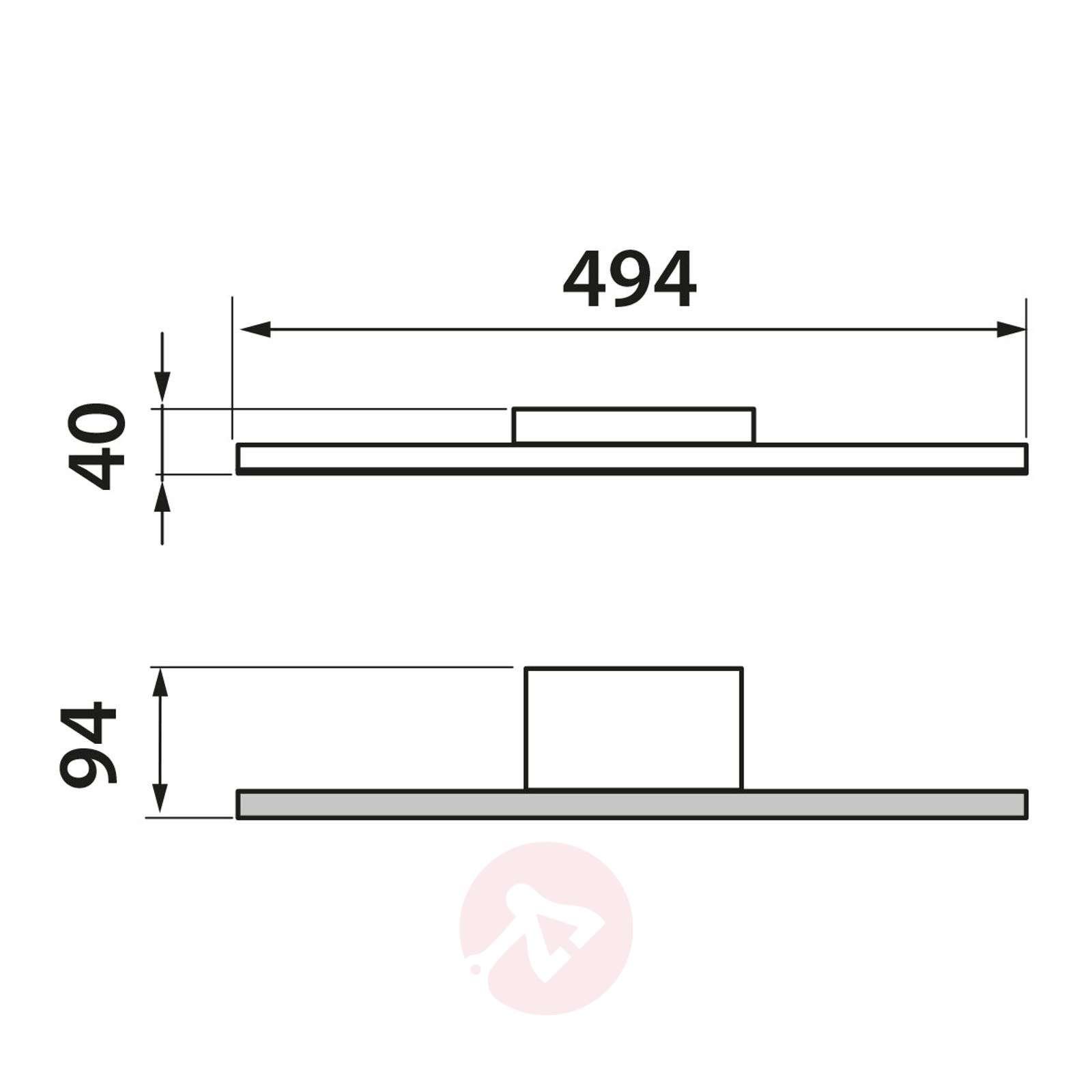 GROSSMANN Forte LED-seinävalaisin-4022030X-01