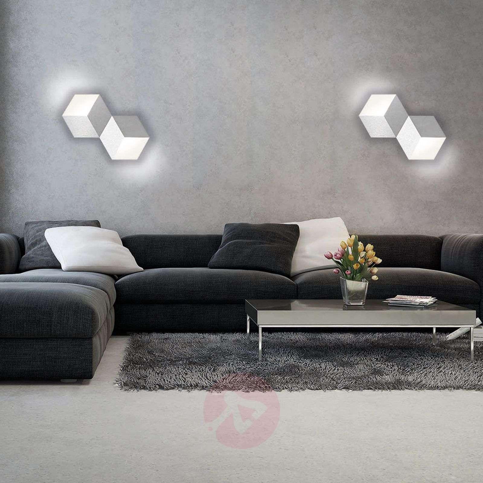 GROSSMANN Geo LED-seinävalaisin 2-lampp.-4022036-01