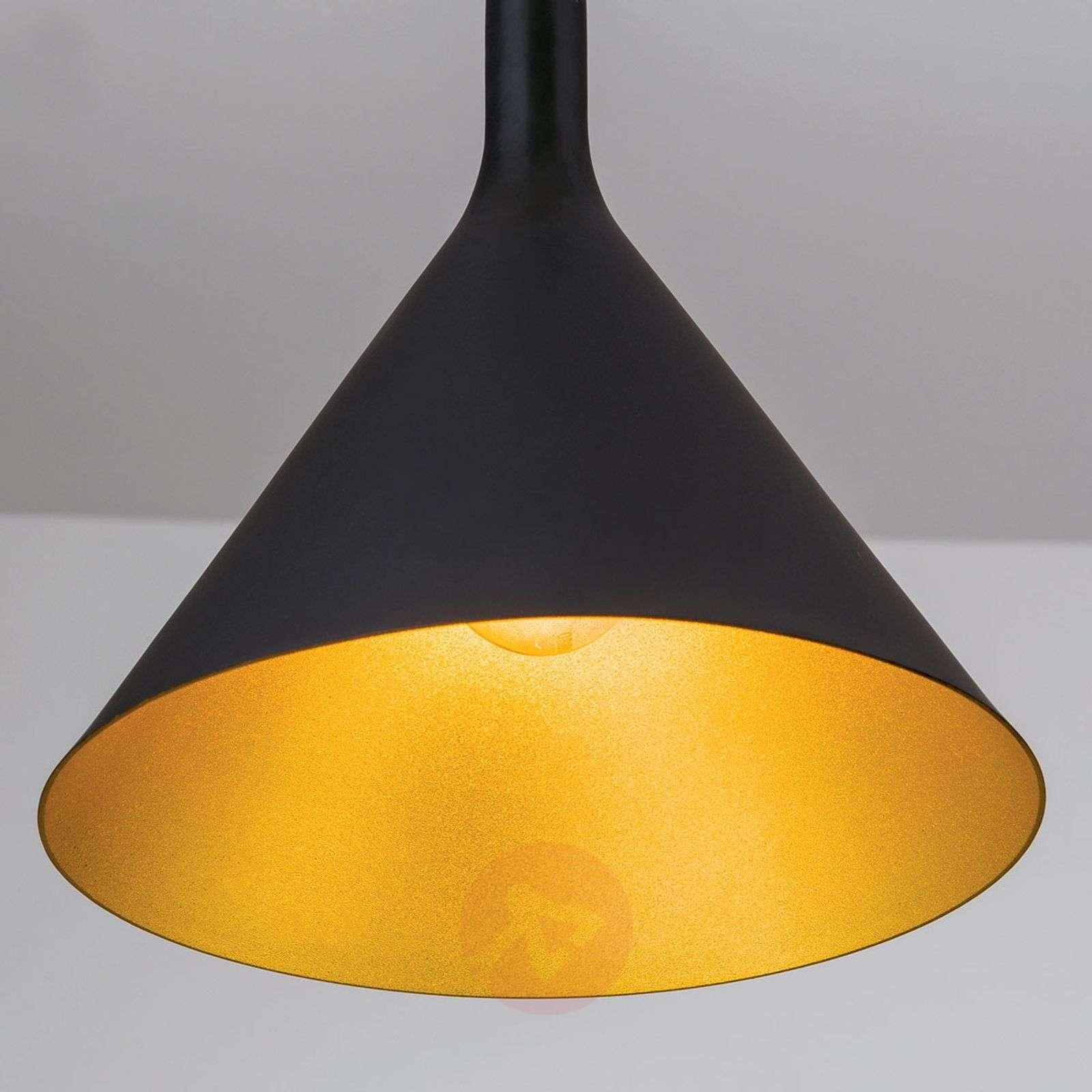 Gunda-riippuvalaisin ulkoa musta, sisältä kulta-7255355-01