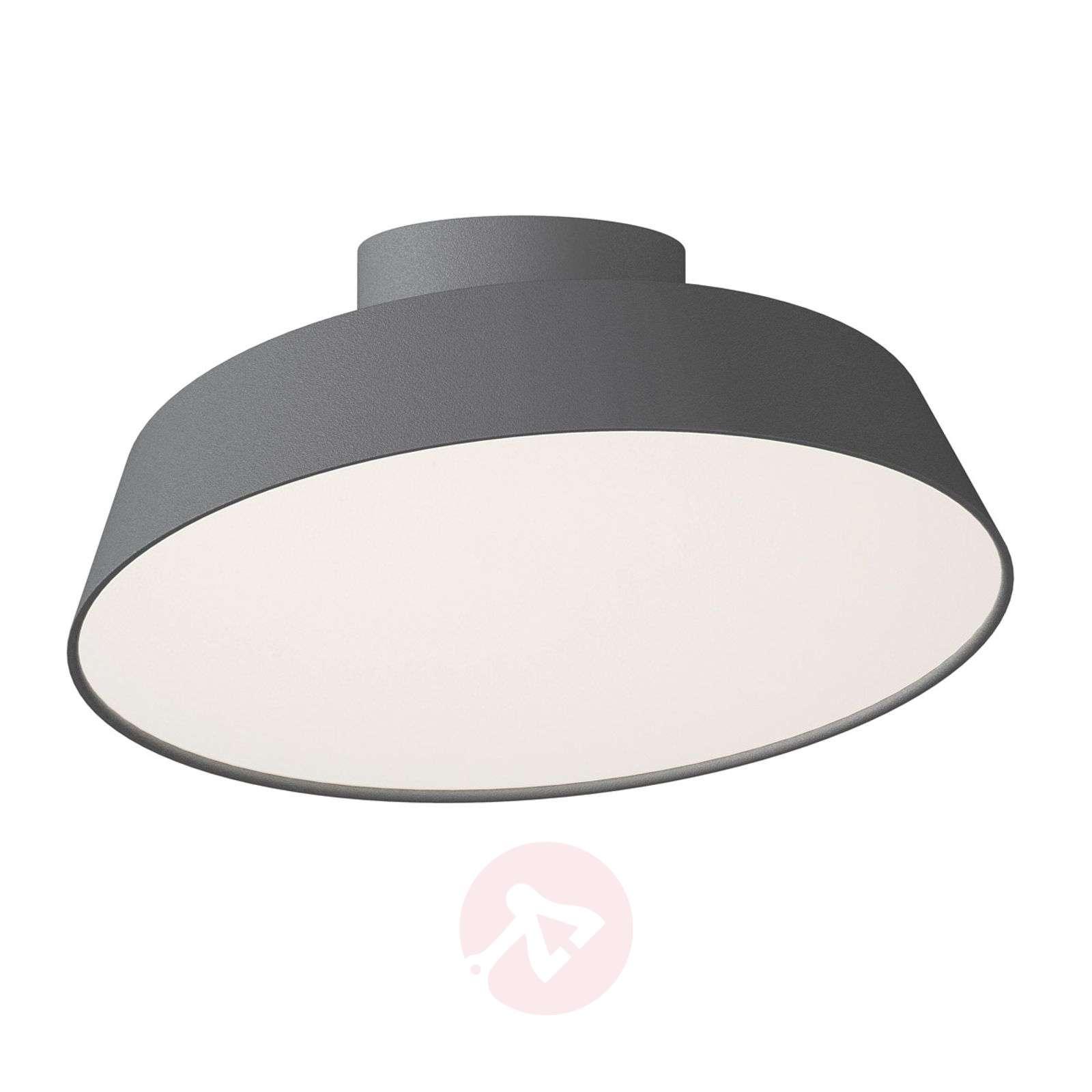 Harmaa LED-kattolamppu Alba, käännettävä varjostin-7005962-01