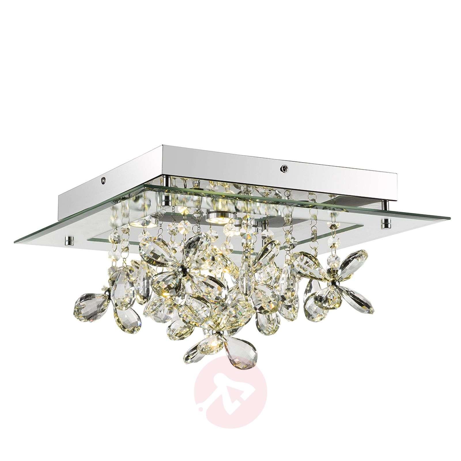 Heijastava LED-kattovalaisin Gese kristalleilla-4014803-01