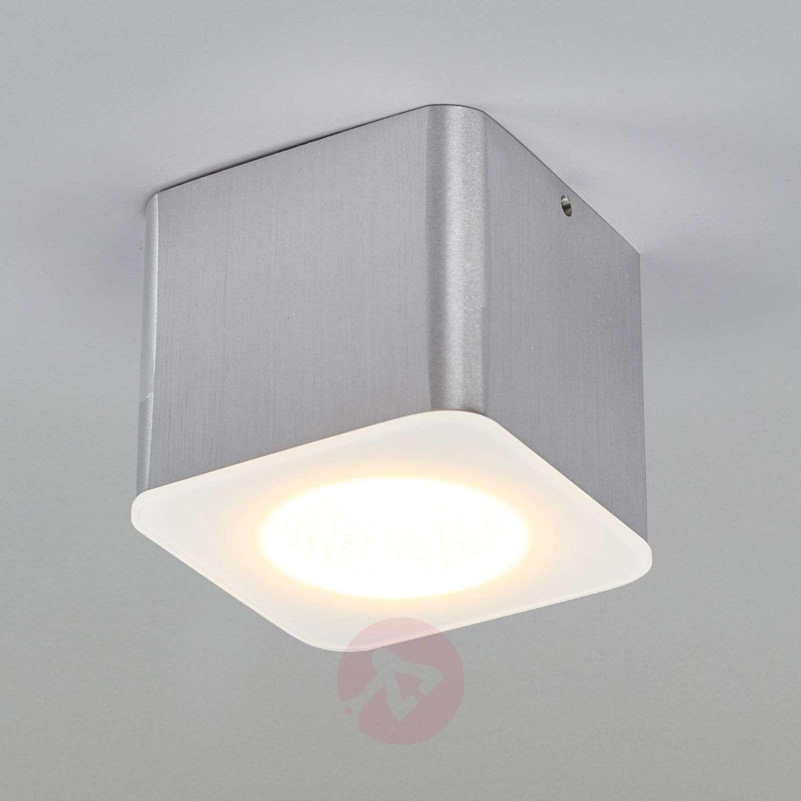 Helestra Oso LED kulmikas, matta alumiini-4516445-01