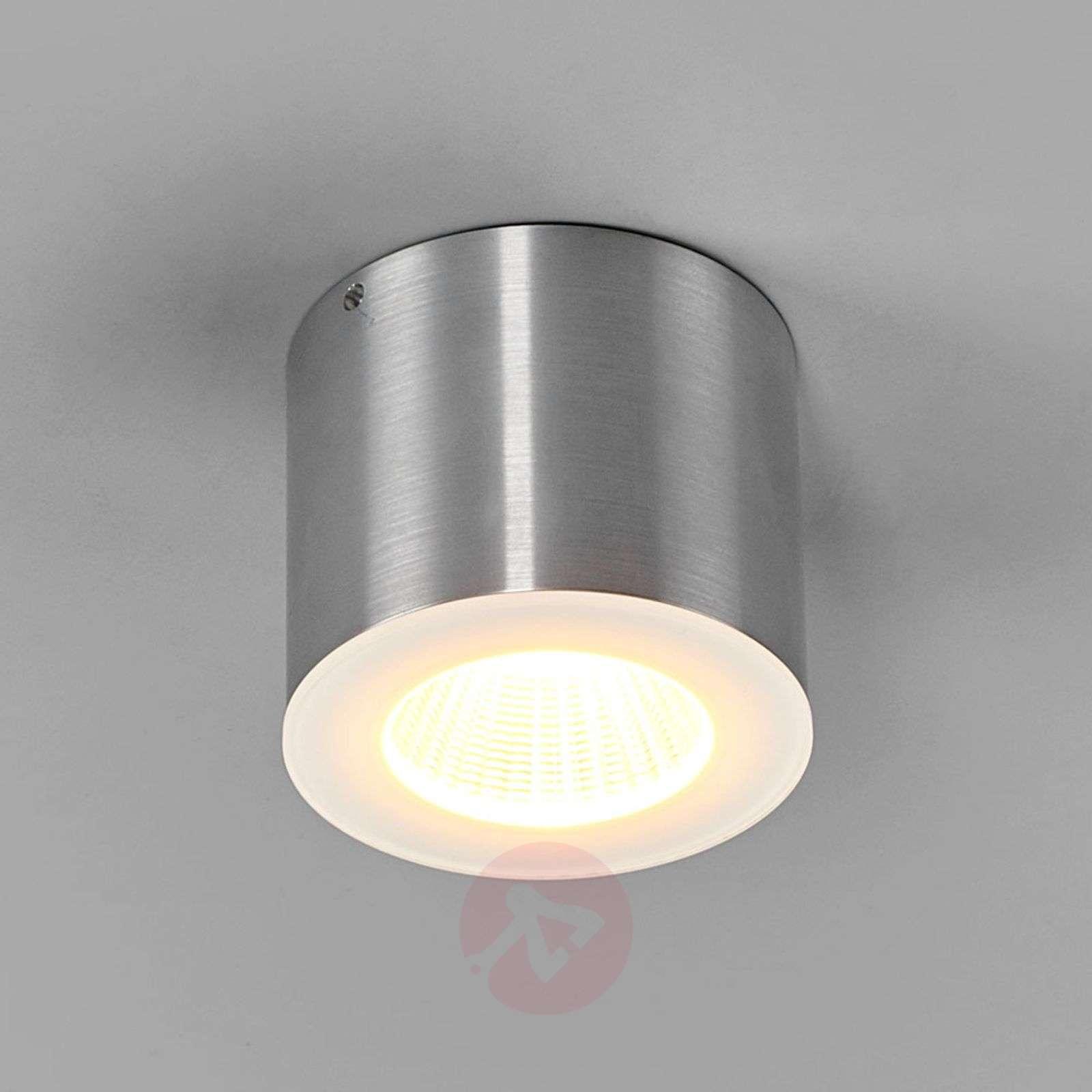 Helestra Oso LED-valaisin, pyöreä, matta alumiini-4516443-02
