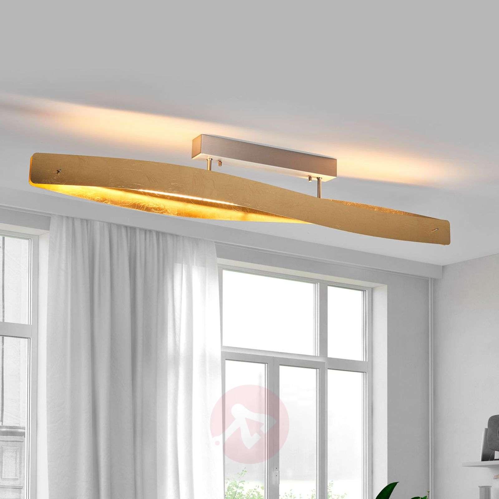 Hieno LED-kattovalaisin lehtimetalliviimeistelyllä-6722409-01