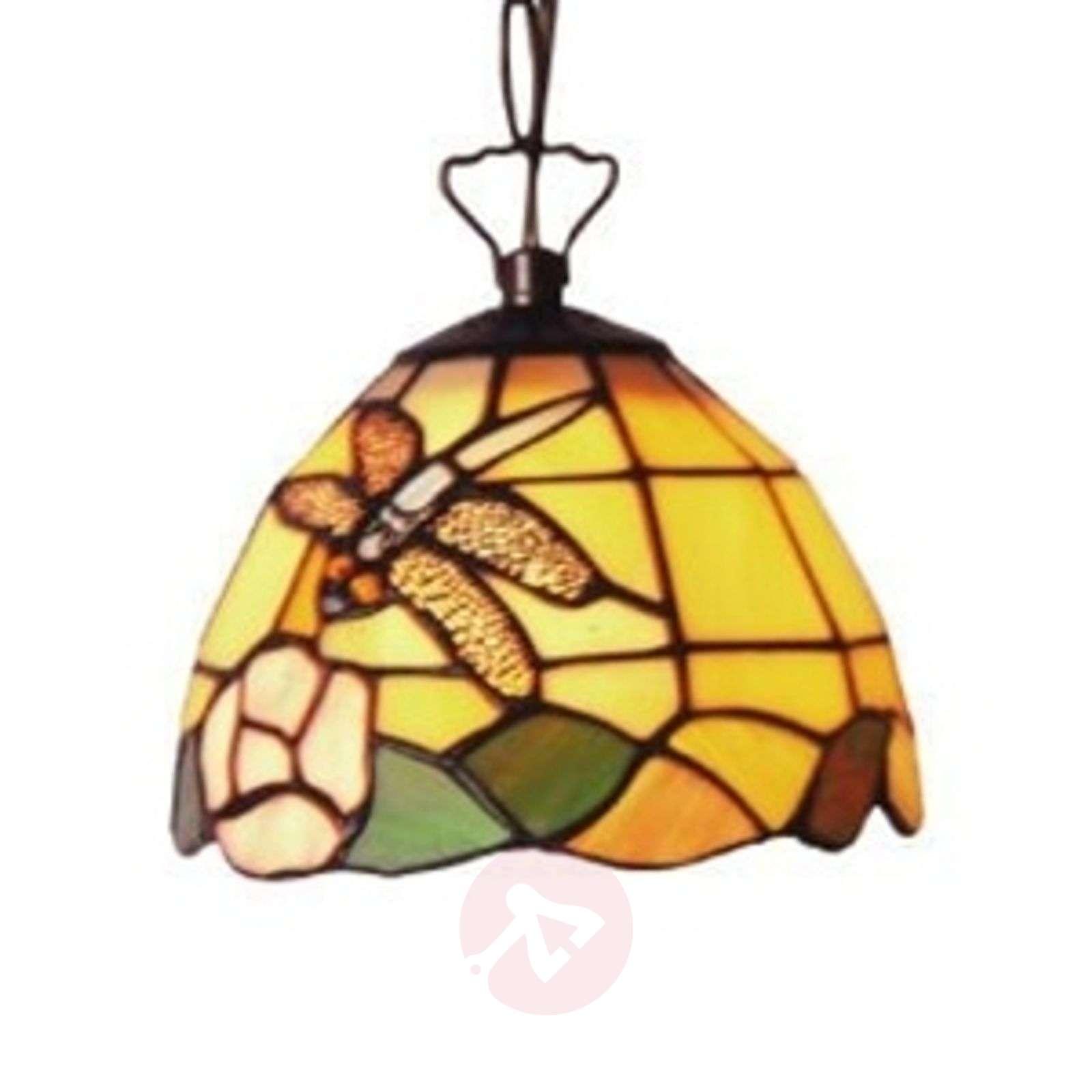 Hieno Tiffany-tyylinen LIBELLE-riippuvalaisin-1032066-01