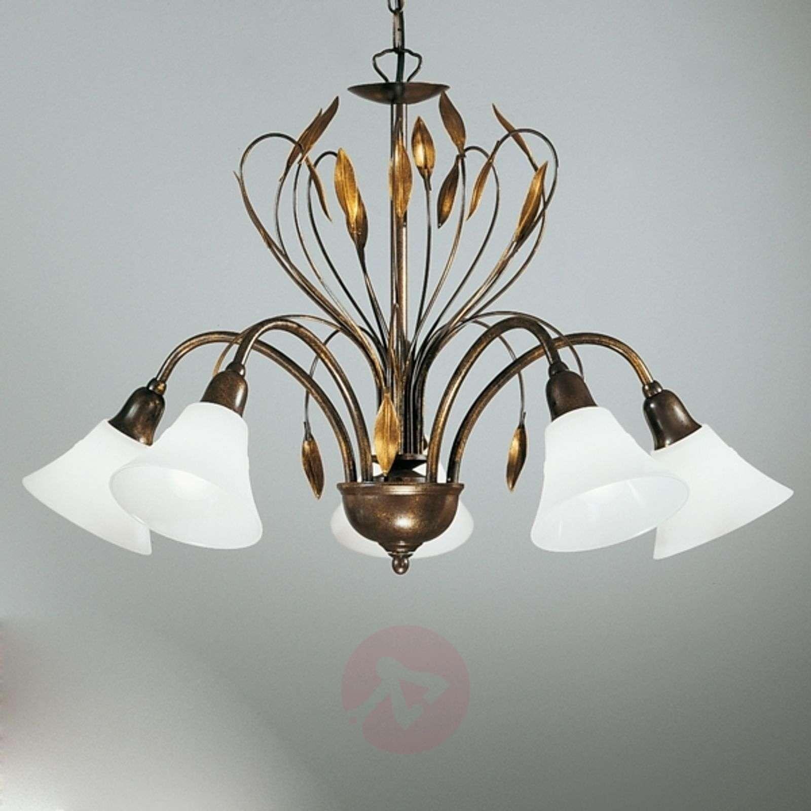 Hienostunut CAMPANA-riippuvalaisin 5 lamppua-5505124-01