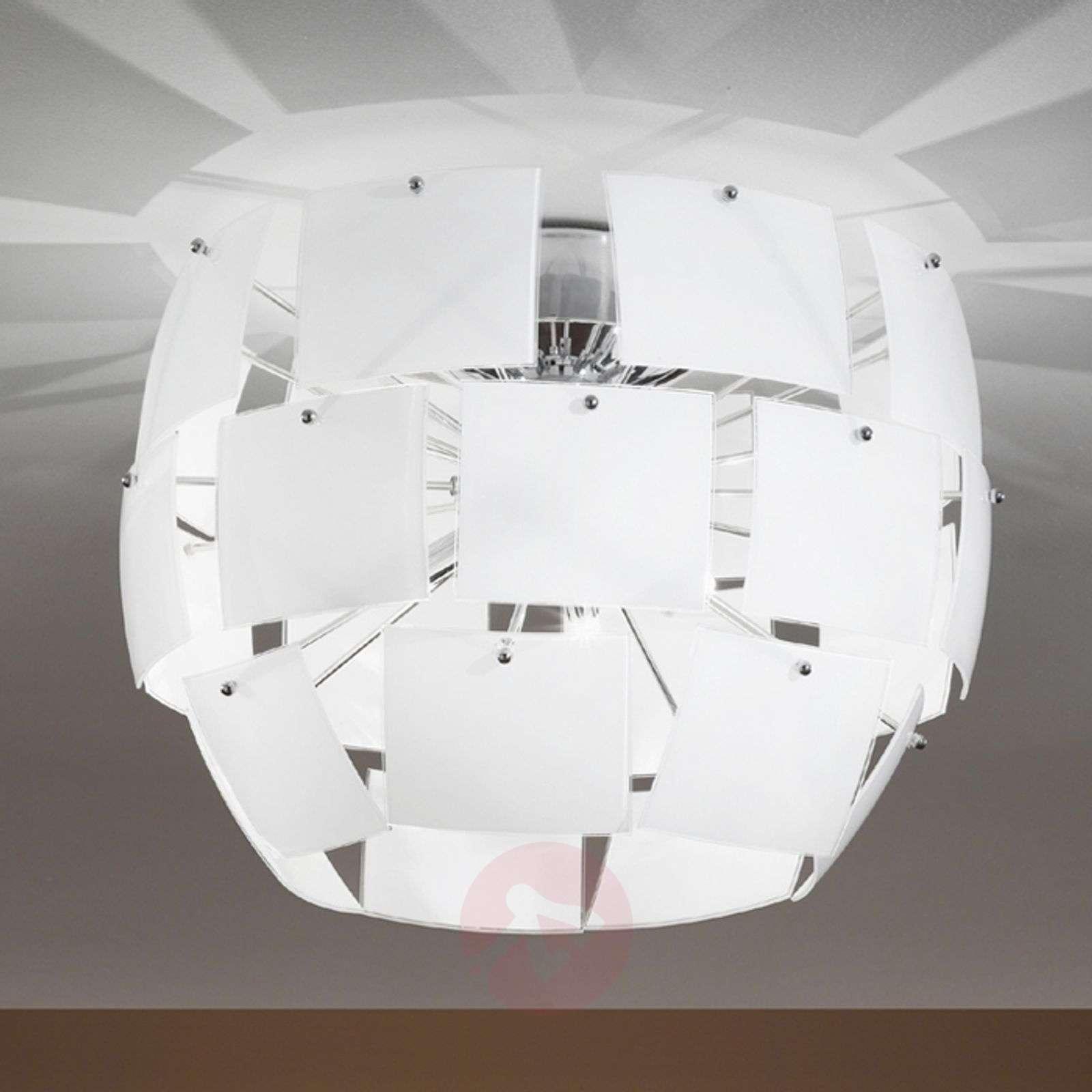 Hienostunut Urania-kattovalaisin, valkoinen-3502030-01