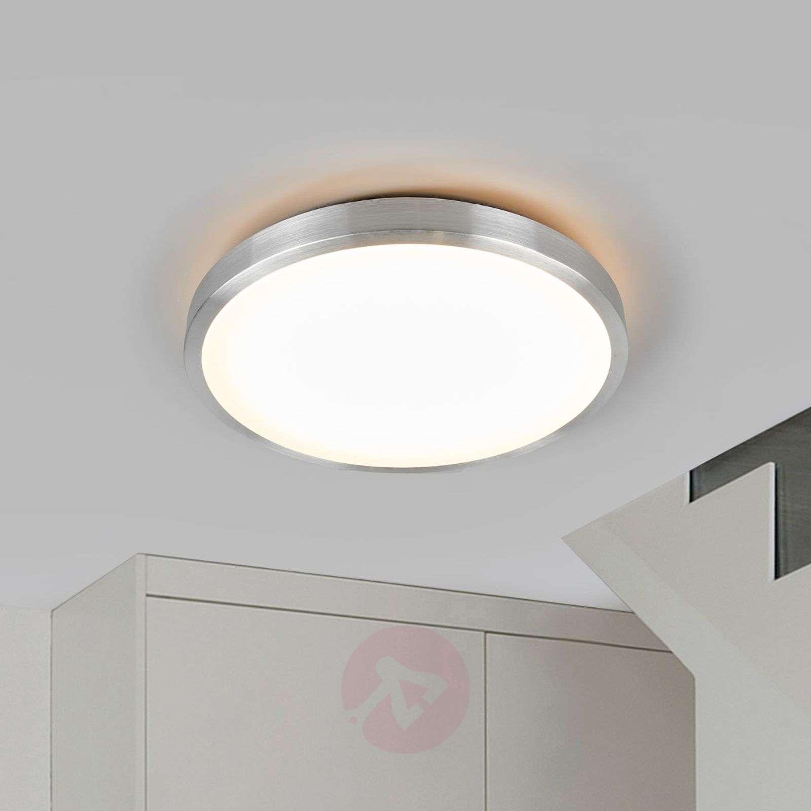 Hillitty Jasmin-LED-kattovalaisin, pyöreä kupu-9974019-01