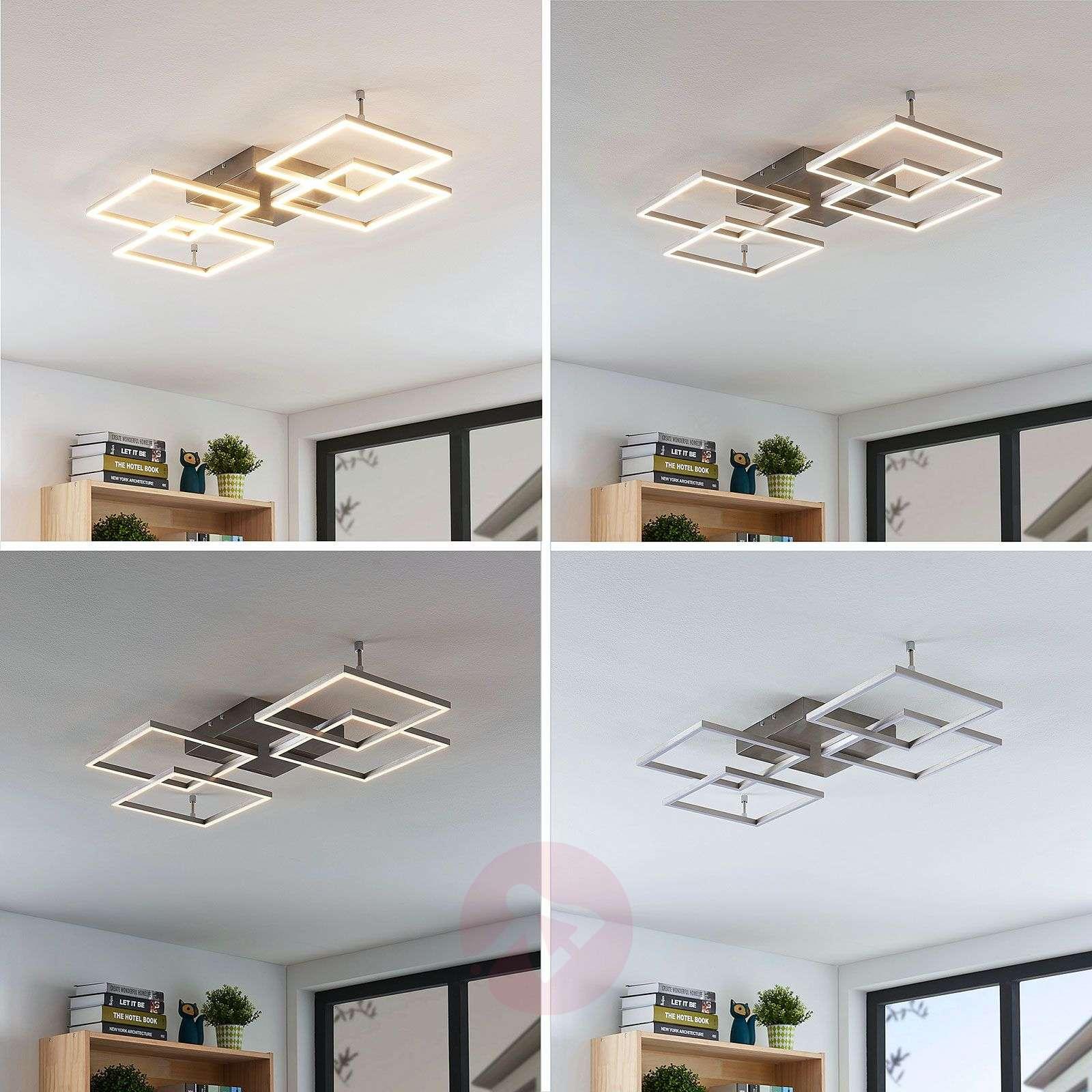 Himmennettävä LED-kattolamppu Quadra, 4-lampp.-7620076-02