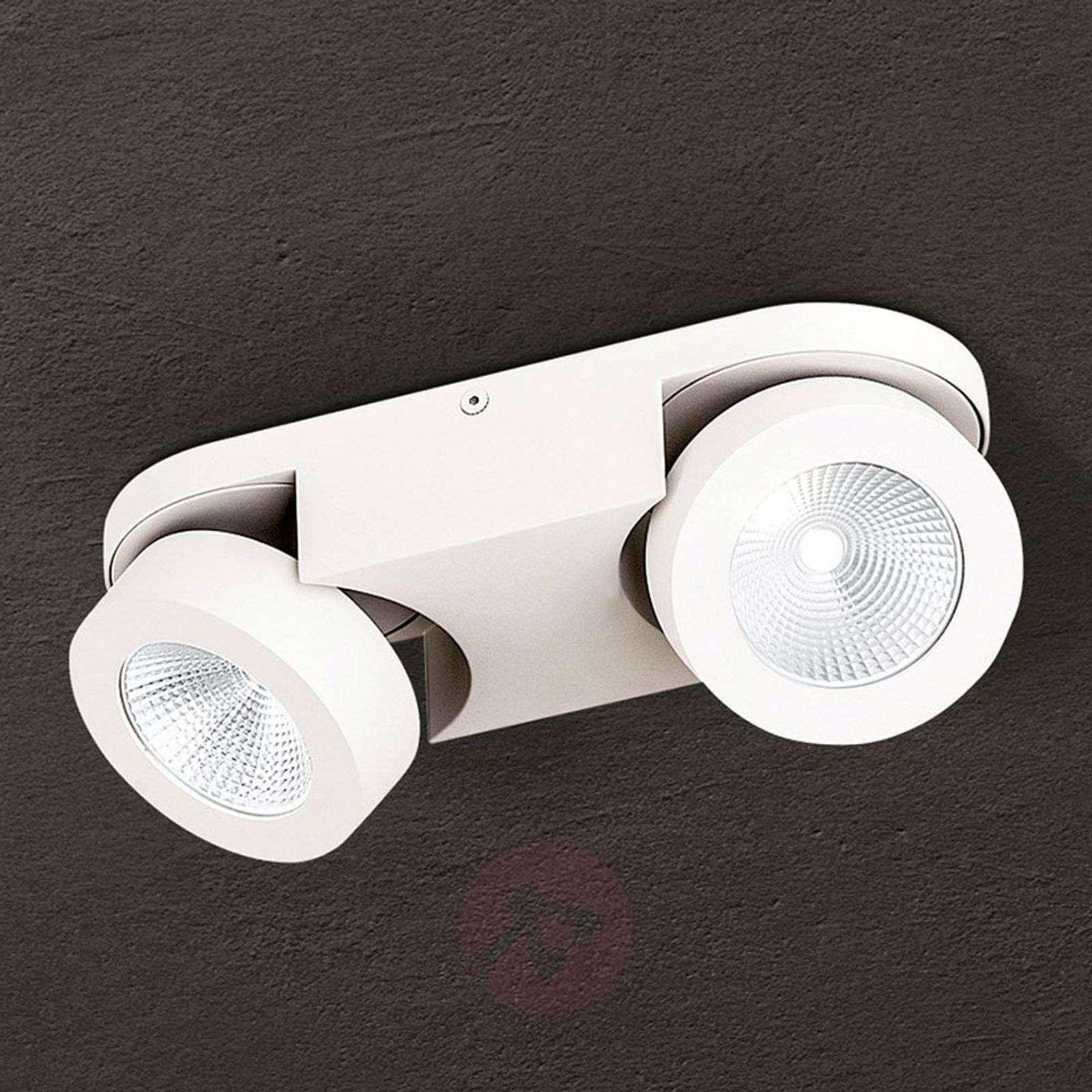 Himmennettävä LED-kattospotti Meno, 2-lamppuinen-7255362-01