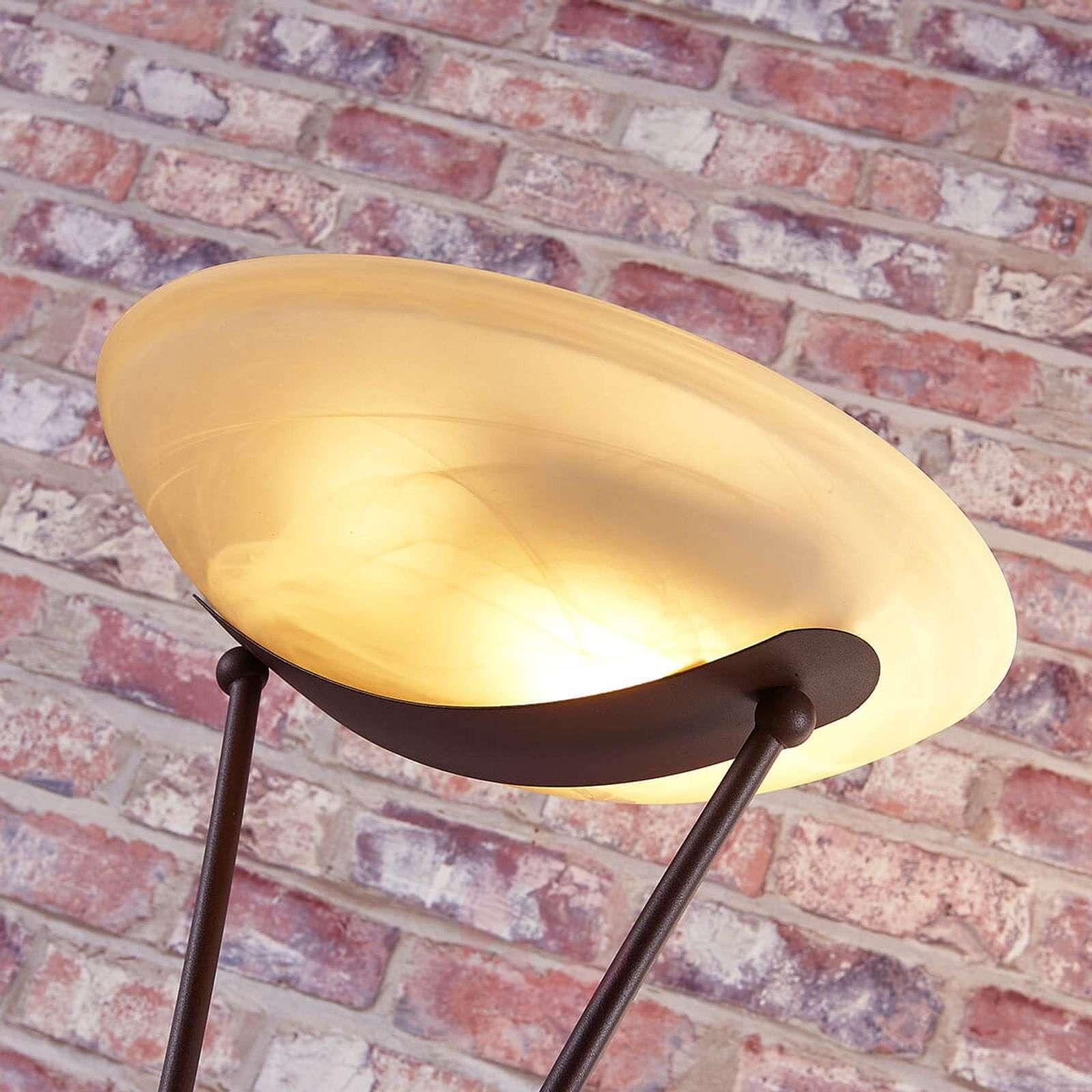 Himmennettävä LED-kattovalaisin Felicia, ruoste-9621271-02