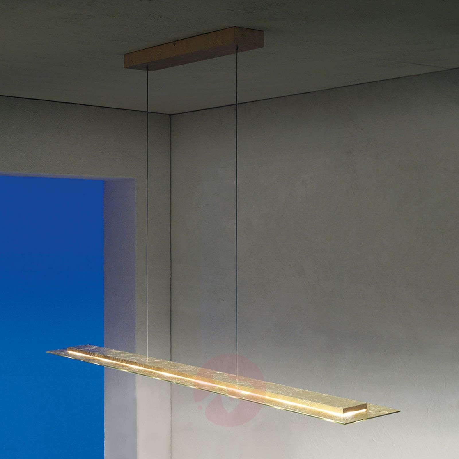 Himmennettävä LED-riippuvalo Skyline, lehtikulta-3051031-01