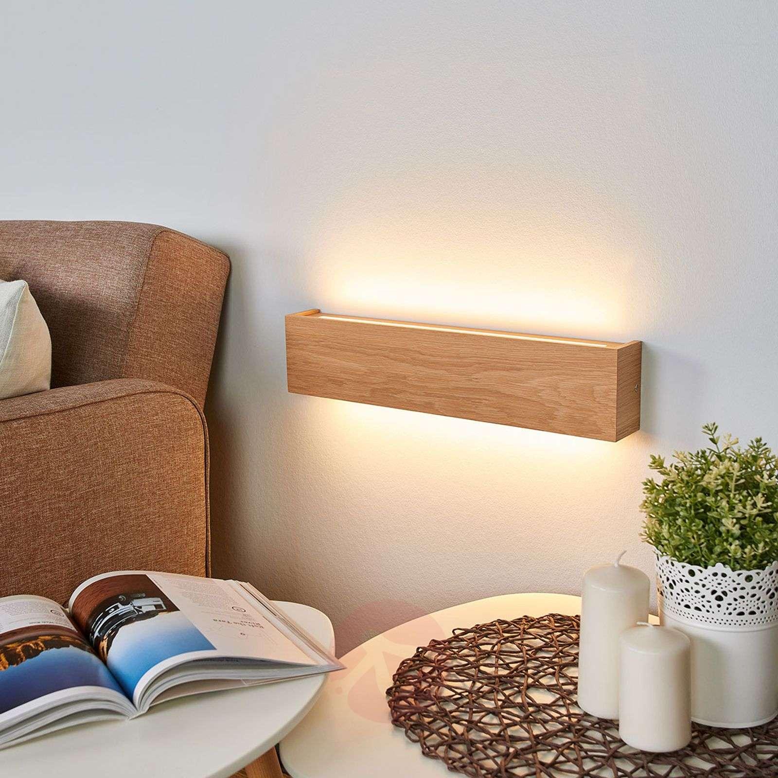 Himmennettävä LED-seinävalo Mila, tammi-6722476X-011