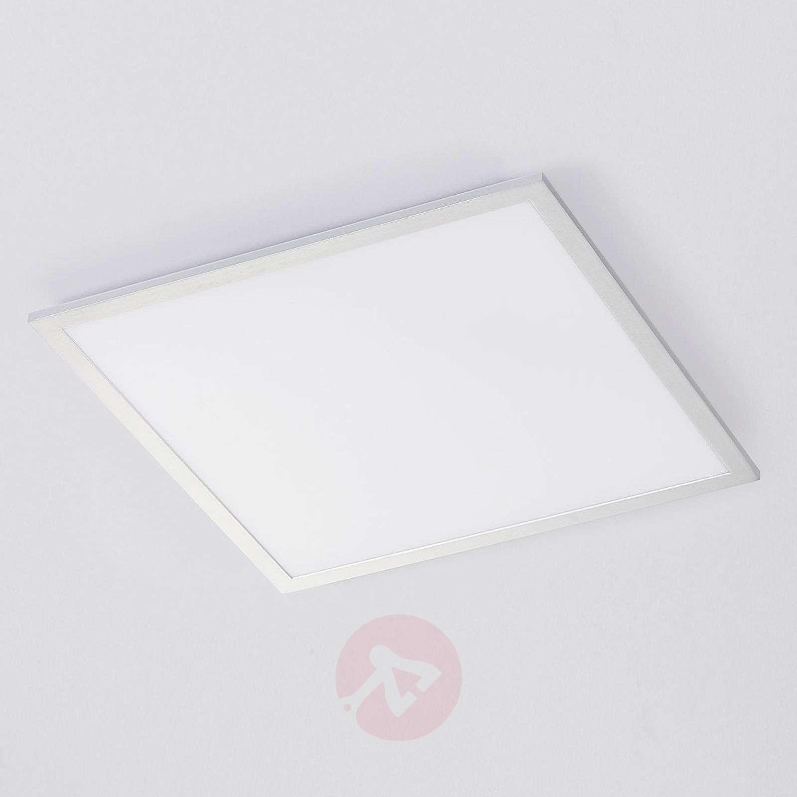 Hopeakehyksinen LED-paneeli Lysander, kaukosäädin-9621559-01