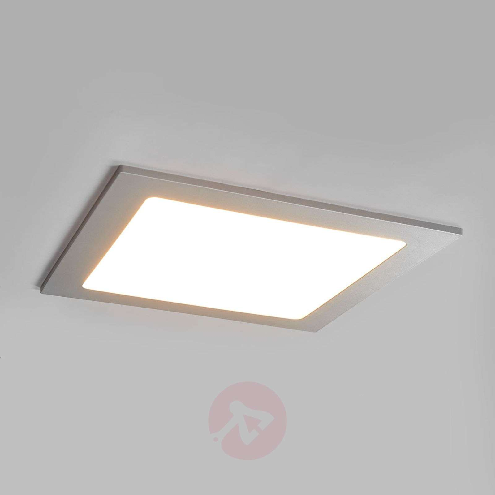 Hopeanvärinen Joki-LED-alasvalo, IP44-9978050-02