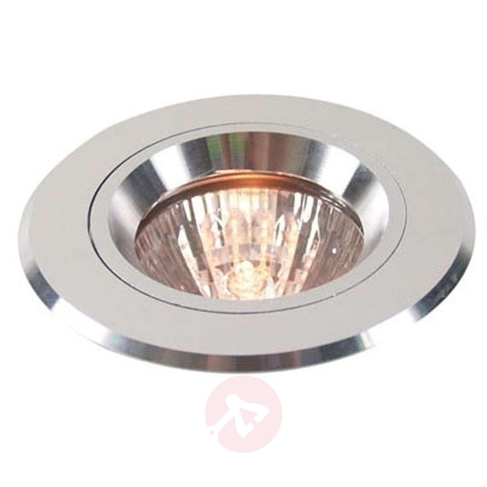 Hopeanvärinen uppovalaisin alumiinia, kiinteä-2501070-01