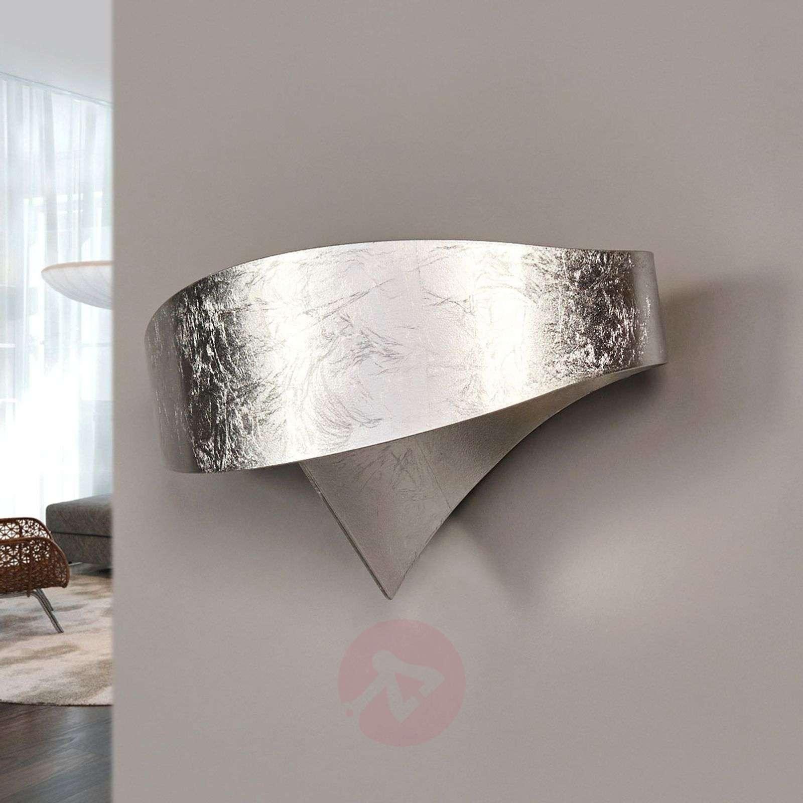 Hopeinen designer-seinävalaisin Scudo-8525698-01