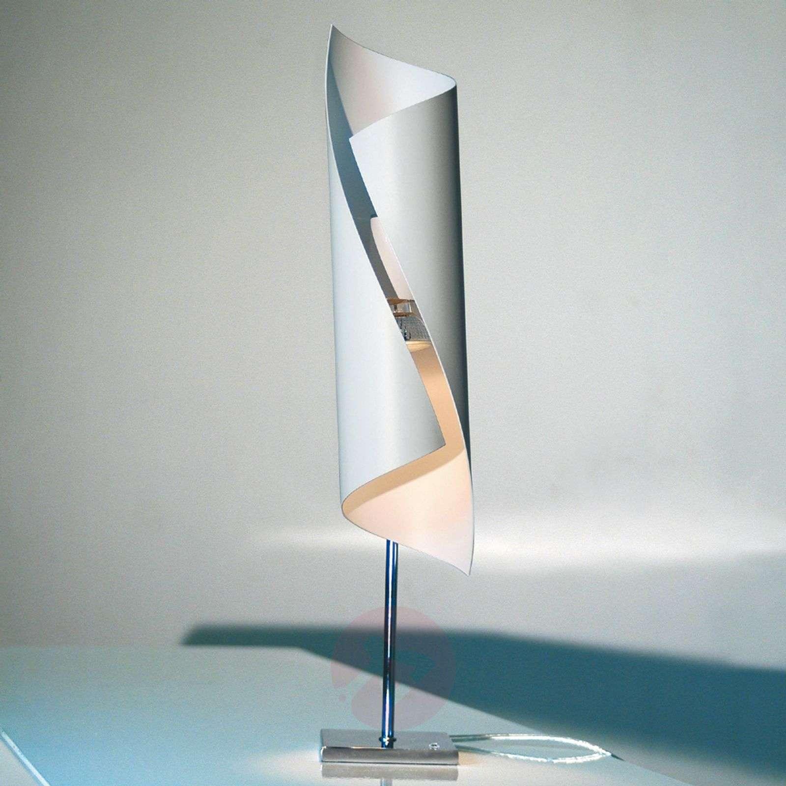Hué-design-pöytävalaisin valkoisena, 50 cm korkea-5538035-01