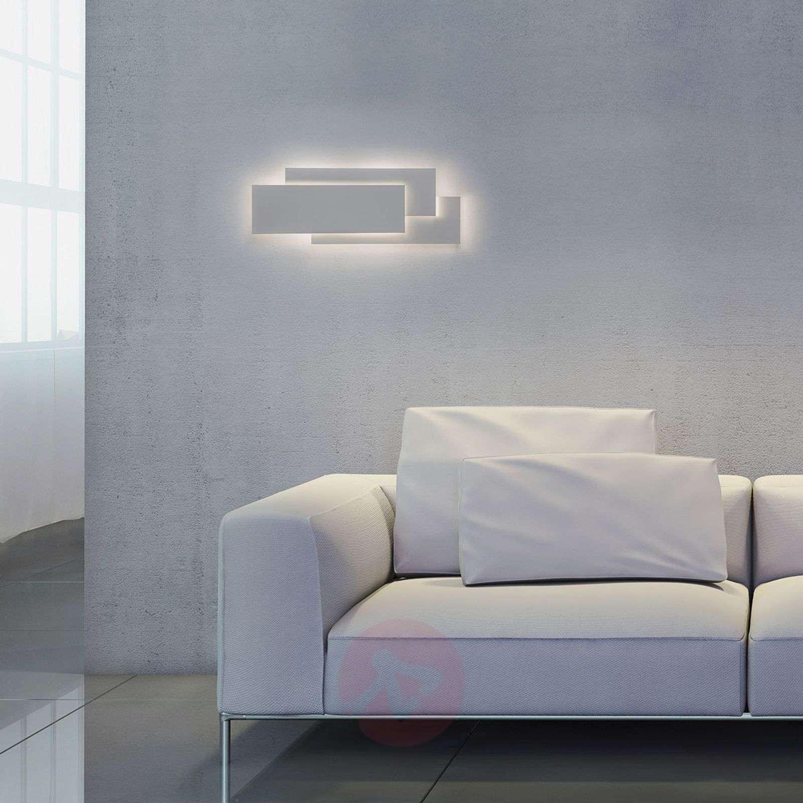 Huippumoderni LED-seinävalaisin Edge valkoisena-1020587-01