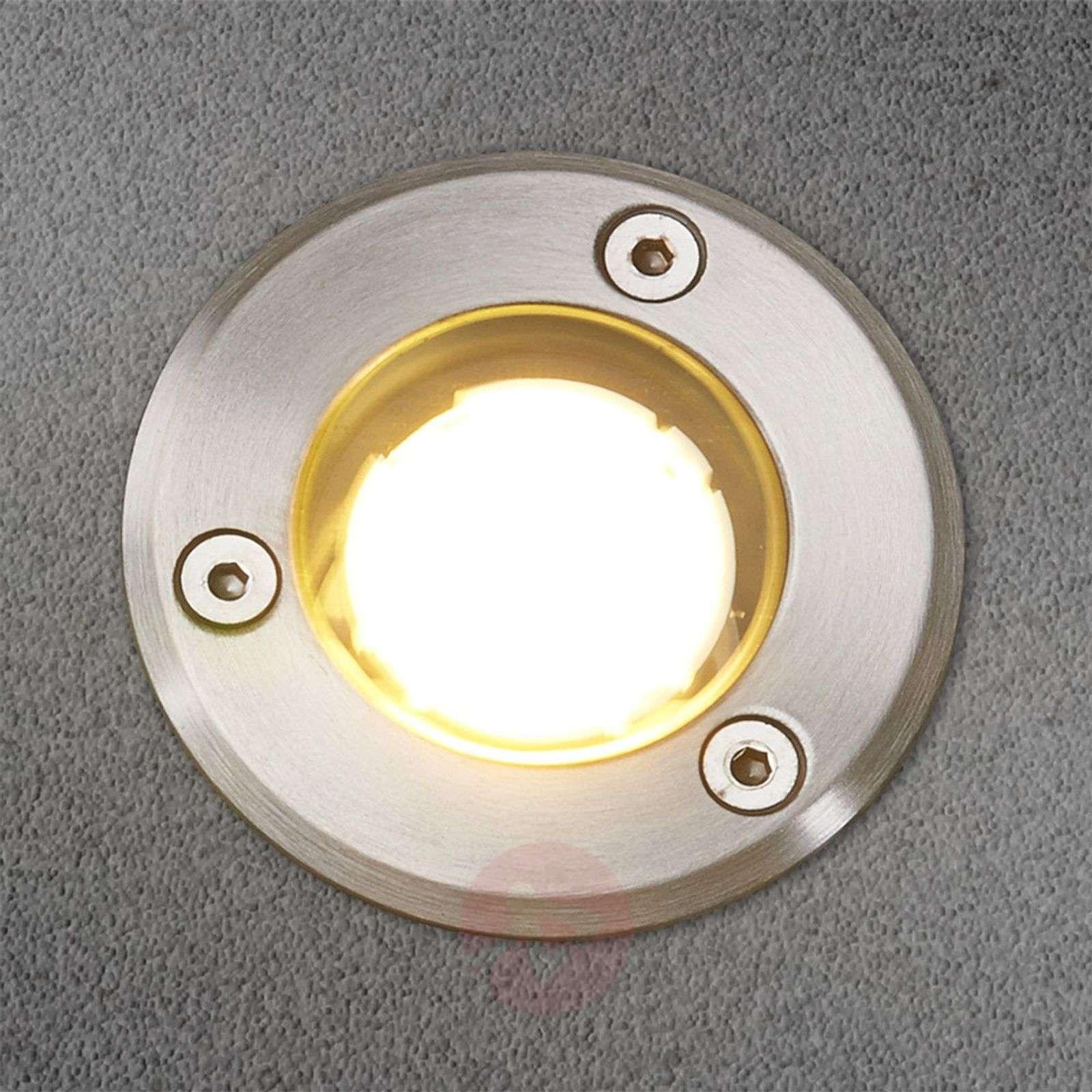IP67 LED-lattiaspotti Kenan, ruostumatonta terästä-9616035-03