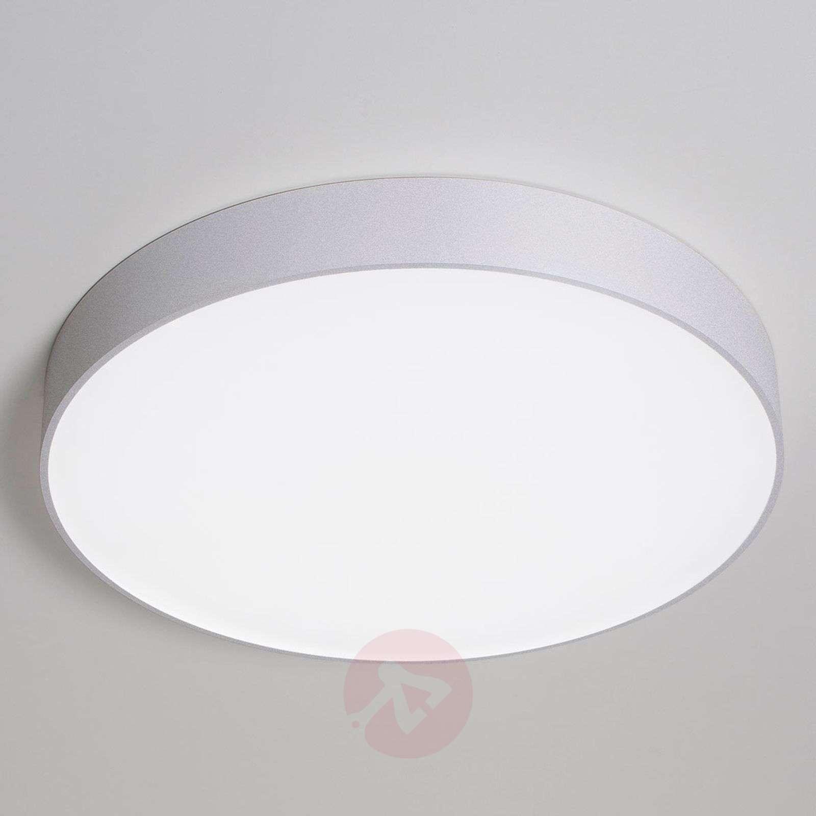 Iso LED-kattovalaisin Bado SD 60 cm, hopea-6523798X-01