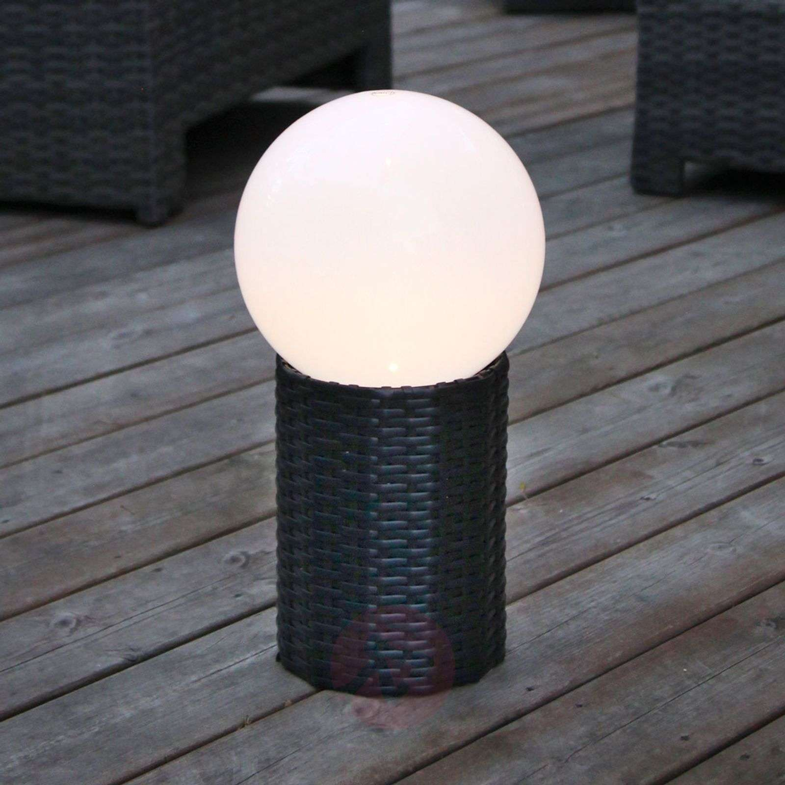 Jalallinen LED-aurinkokennopallo Lug, Ø 15 cm-1522969-01