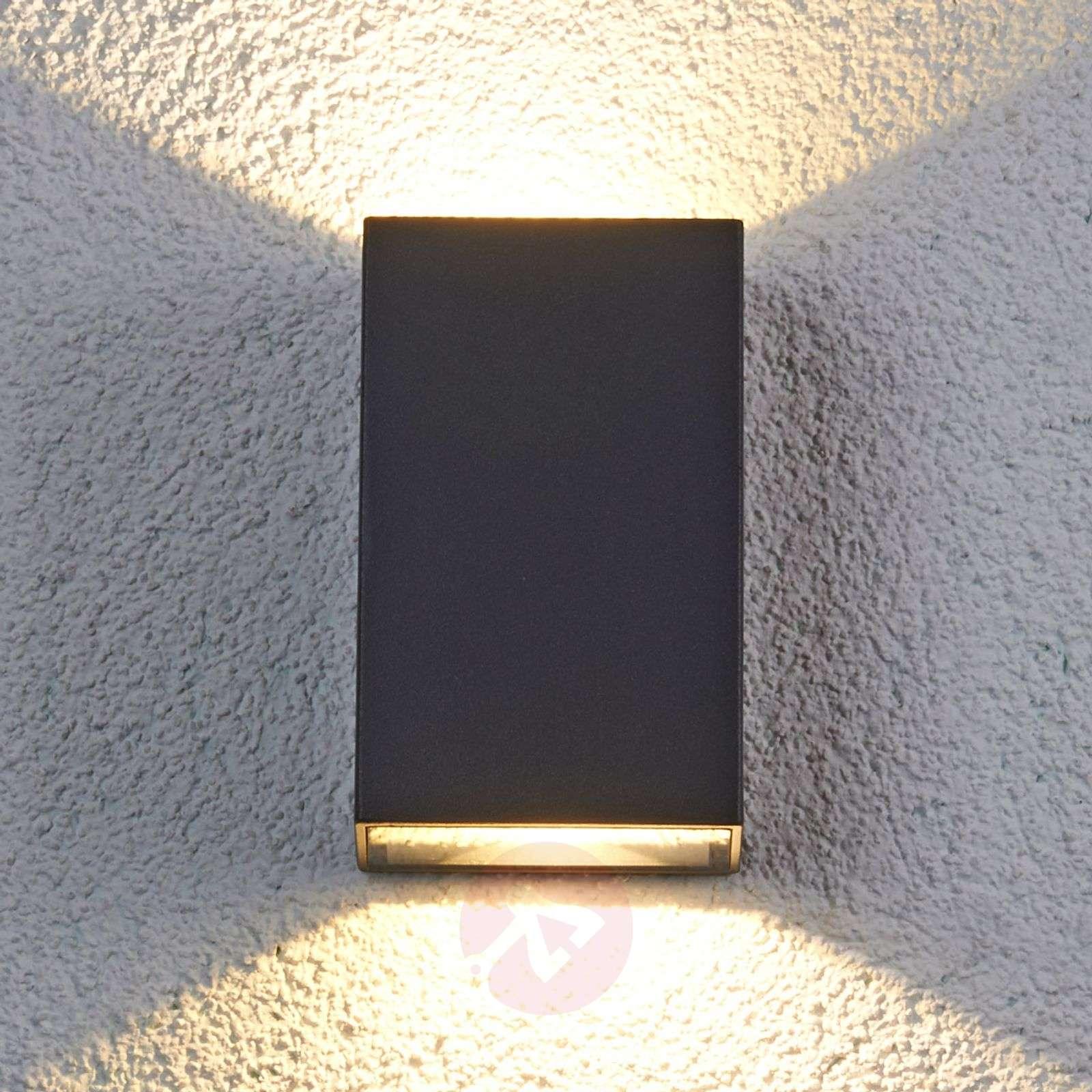 Jale LED-ulkoseinävalaisin alumiinista-9618017-01