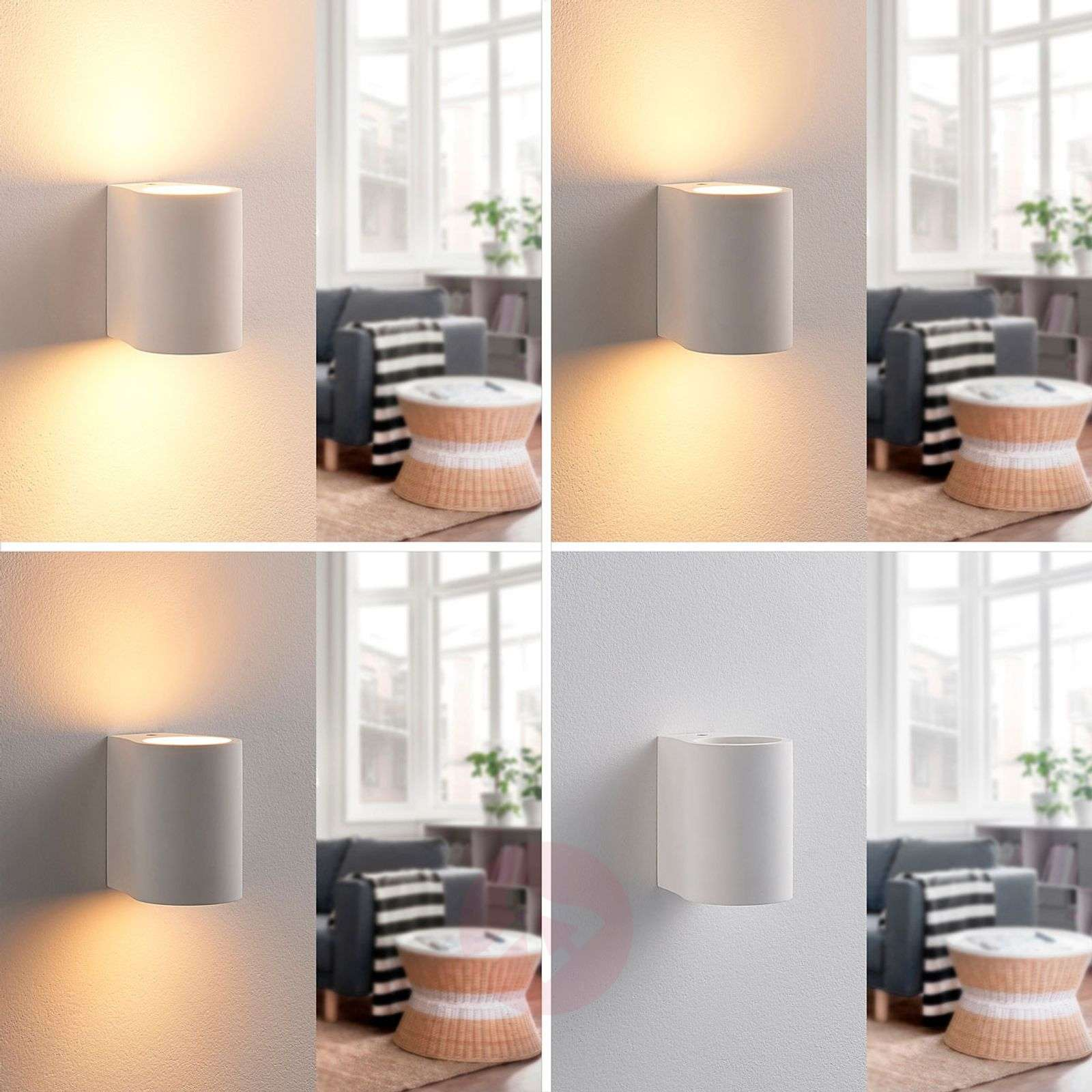 Jannes – LED-seinävalaisin kipsiä-9621340-02