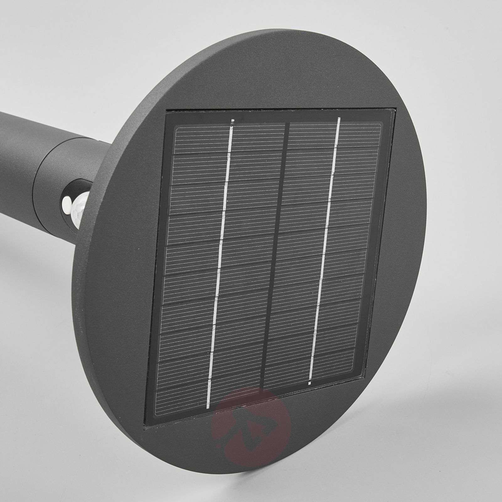 Jersy-LED-pylväsvalaisin aurinkopaneelilla, 100 cm-9619068-05