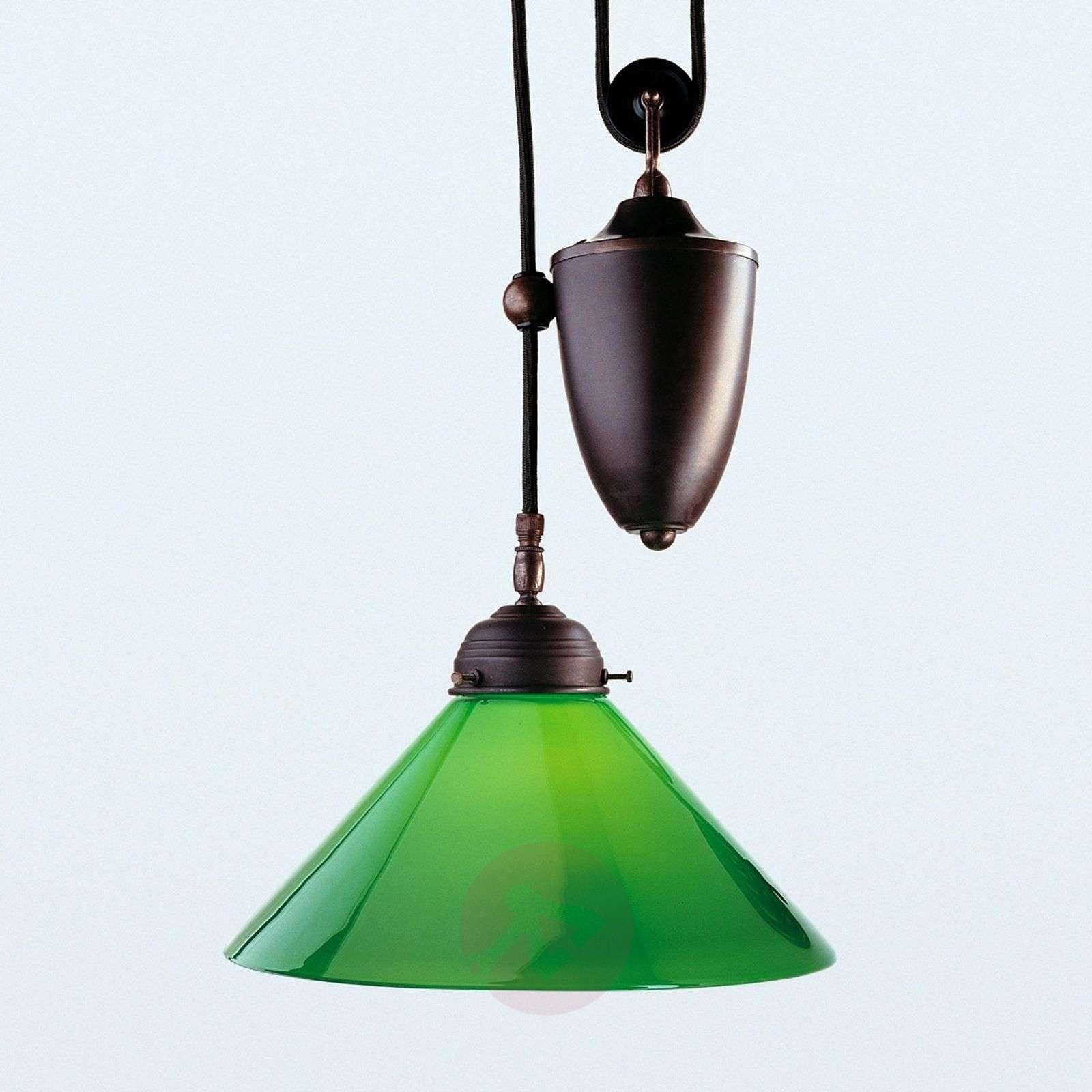 Jonas-riippuvalaisin vihreällä varjostimella-1542081-01